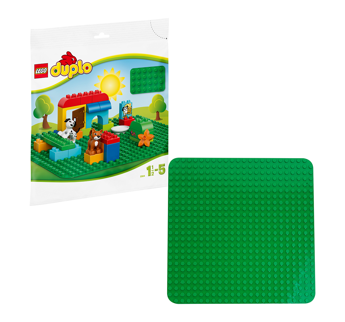 LEGO   LEGO® DUPLO® Large Green Building Plate Lego Blocks for Kids age 18M + (Green)
