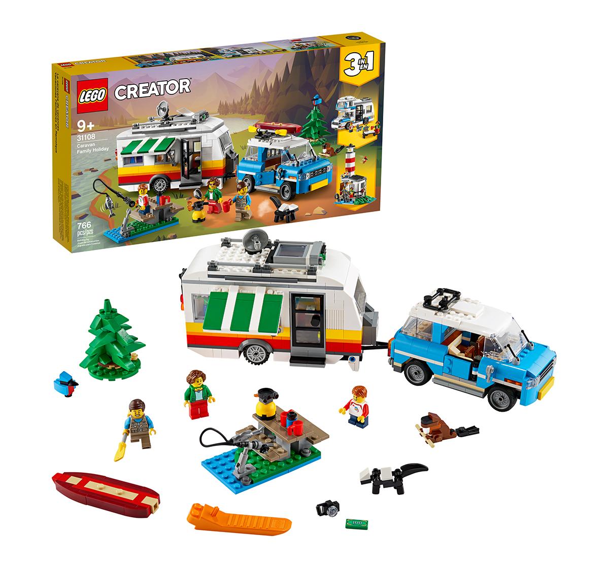 LEGO | LEGO Caravan Family Holiday Lego Blocks for Kids age 8Y+