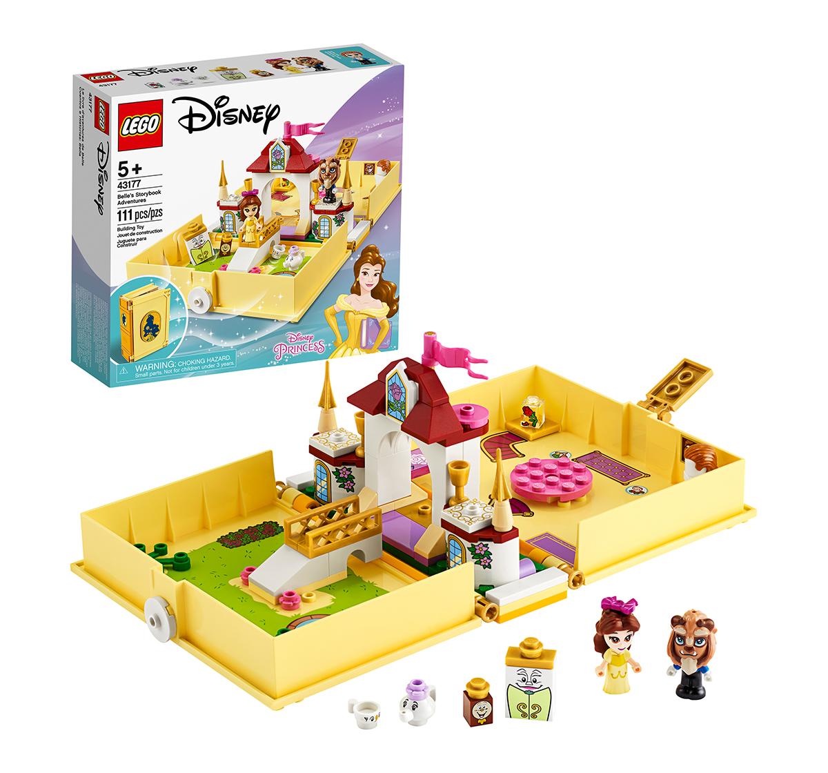 LEGO   LEGO 43177 Belle's Storybook Adventures Lego Blocks for Girls age 5Y+
