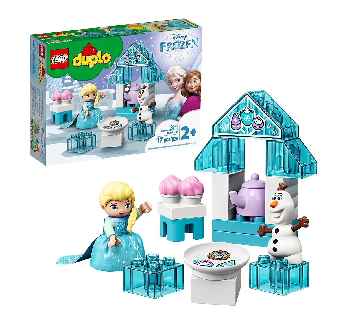 LEGO | LEGO 10920 Elsa and Olaf's Tea Party Lego Blocks for Kids age 2Y+