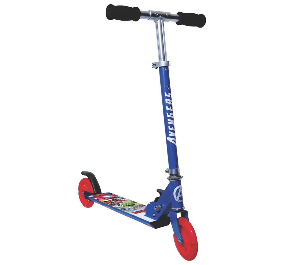 Rowan | Avengers 2-Wheel Scooter for Kids age 4Y+, Blue