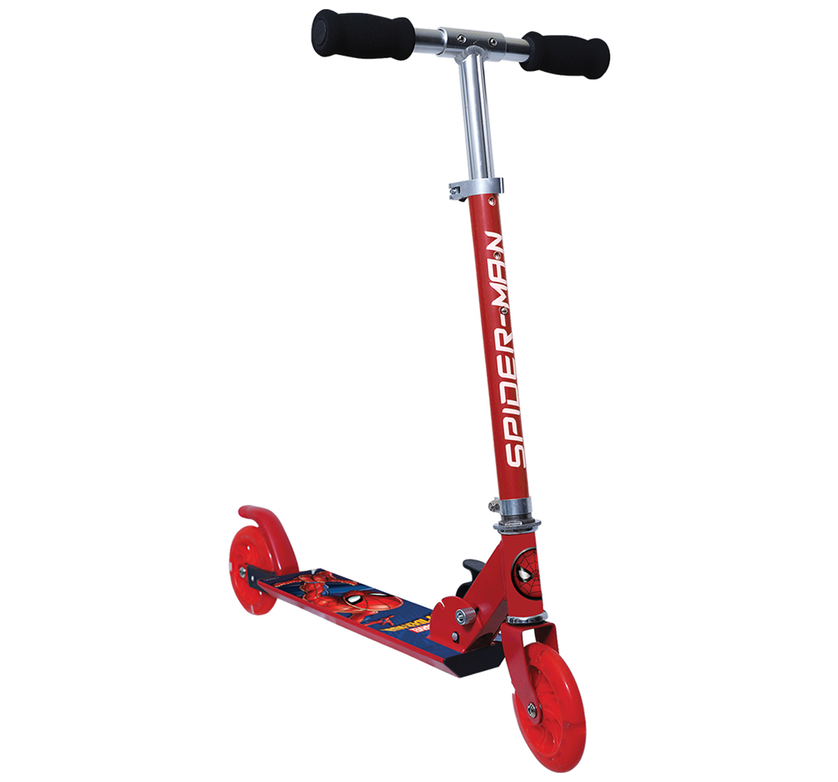 Rowan   Spiderman 2-Wheel Scooter for Kids age 4Y+,  Red