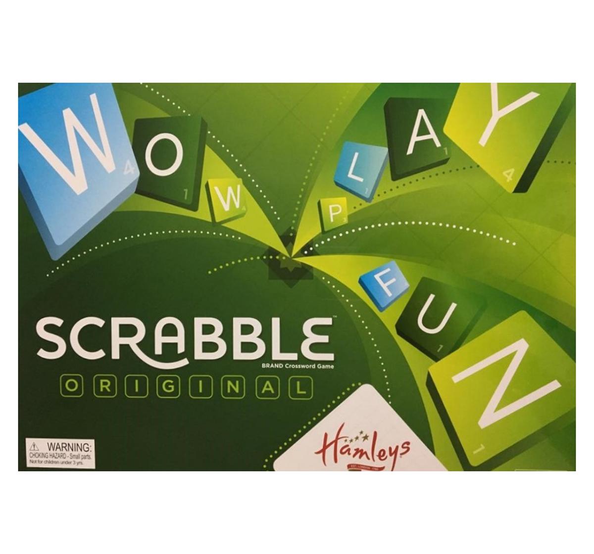 Mattel | Mattel Games Hamleys Scrabble, Unisex, 10Y+ (Multicolor)