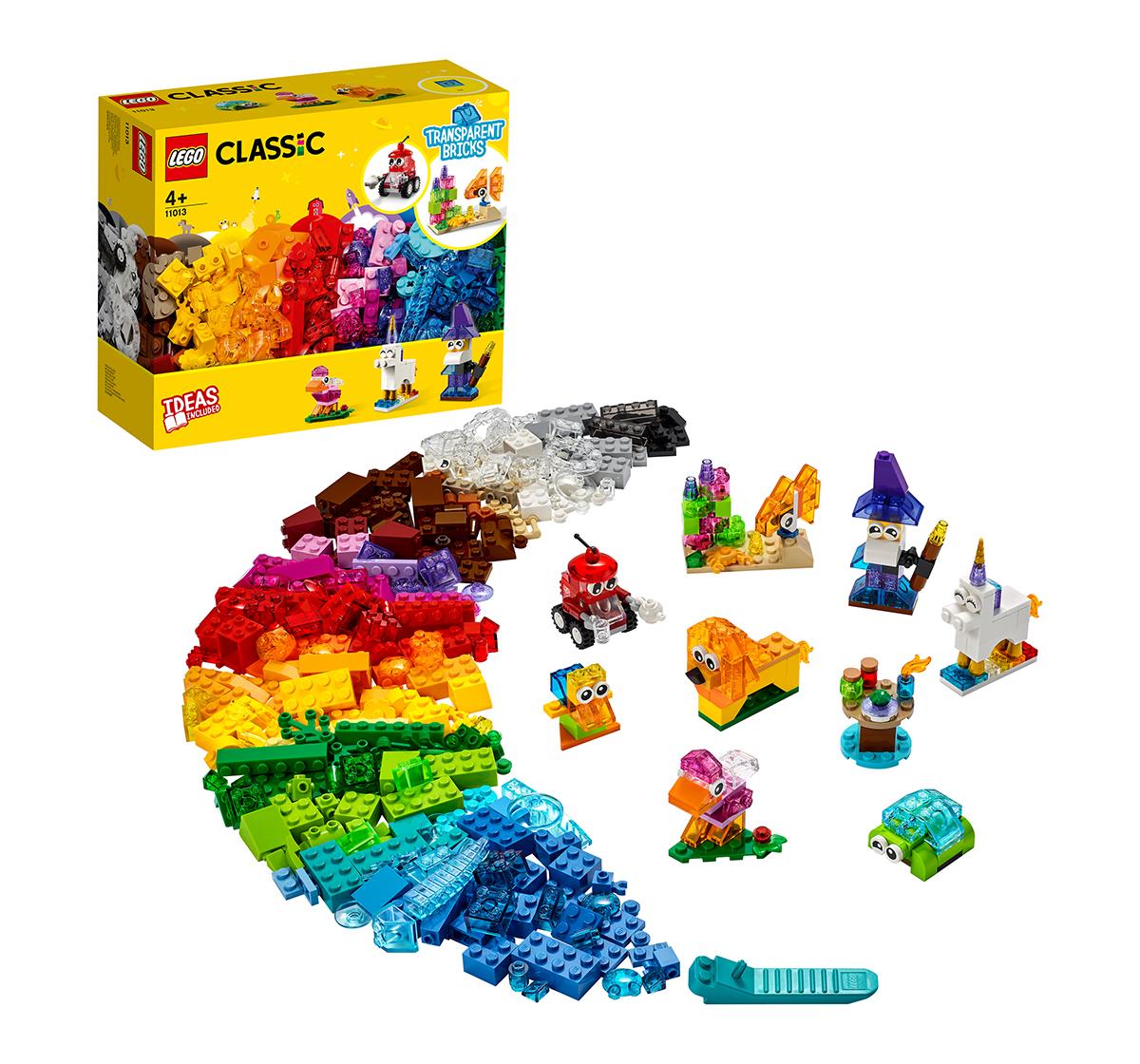 LEGO | LEGO Creative Transparent Bricks Lego Blocks for Kids age 4Y+