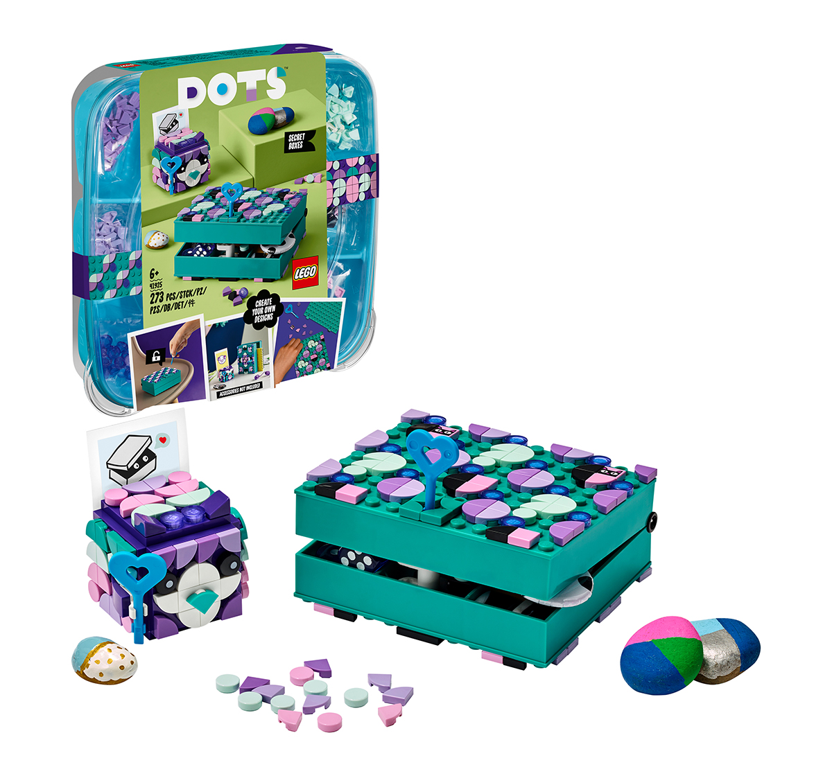 LEGO   LEGO Secret Boxes Lego Blocks for Kids age 6Y+