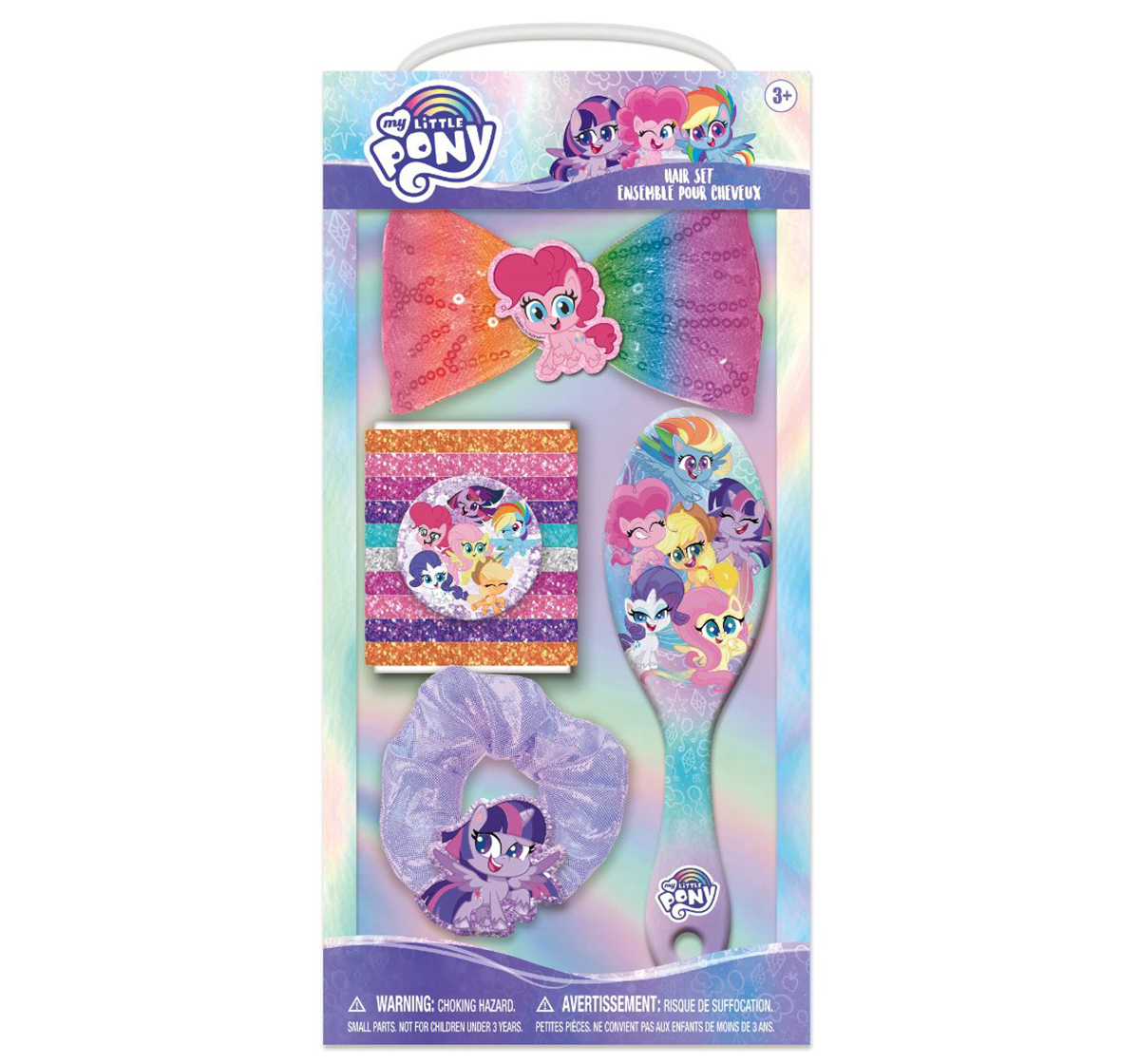 Townley Girl | NE My Little Pony Hair Accessories in Tin for Girls age 5Y+