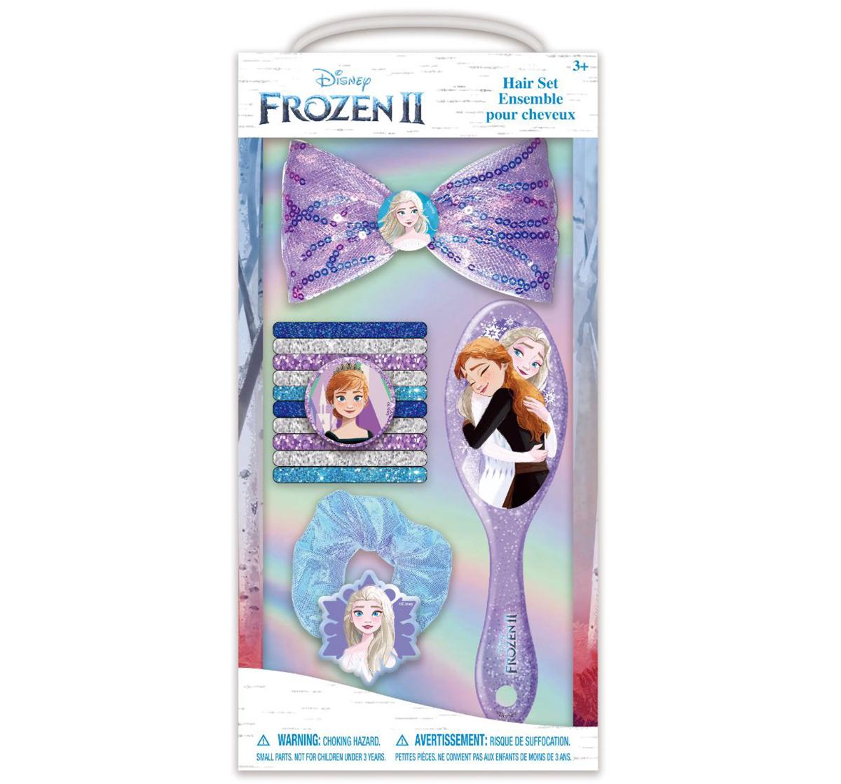 Townley Girl | NE Disney Frozen Glitter Accessories with Brush for Girls age 5Y+