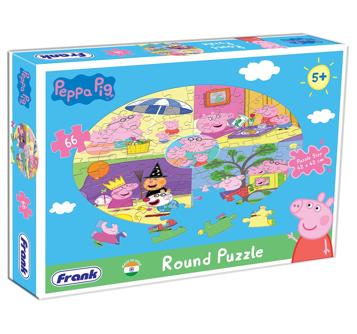 Peppa Pig | Peppa Pig Round Puzzle 66 pcs, 5Y+