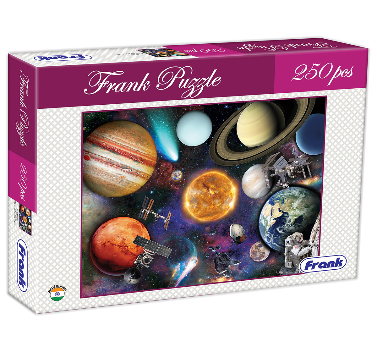 Frank | Frank In Space Puzzle 250 Pcs, 9Y+