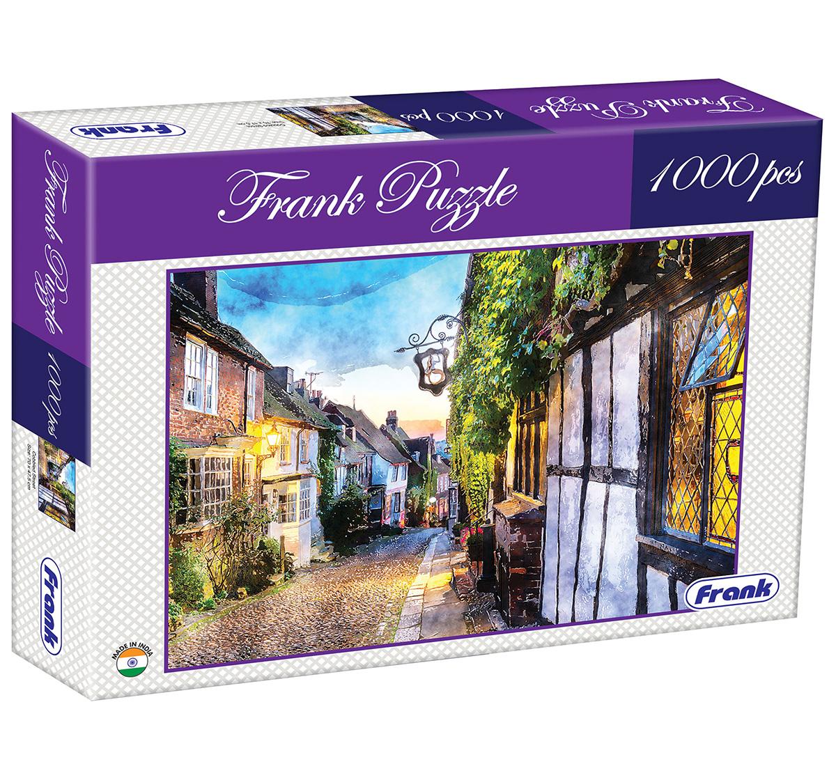 Frank | Frank Cobbled Street Puzzle 1000 Pieces, 14Y+