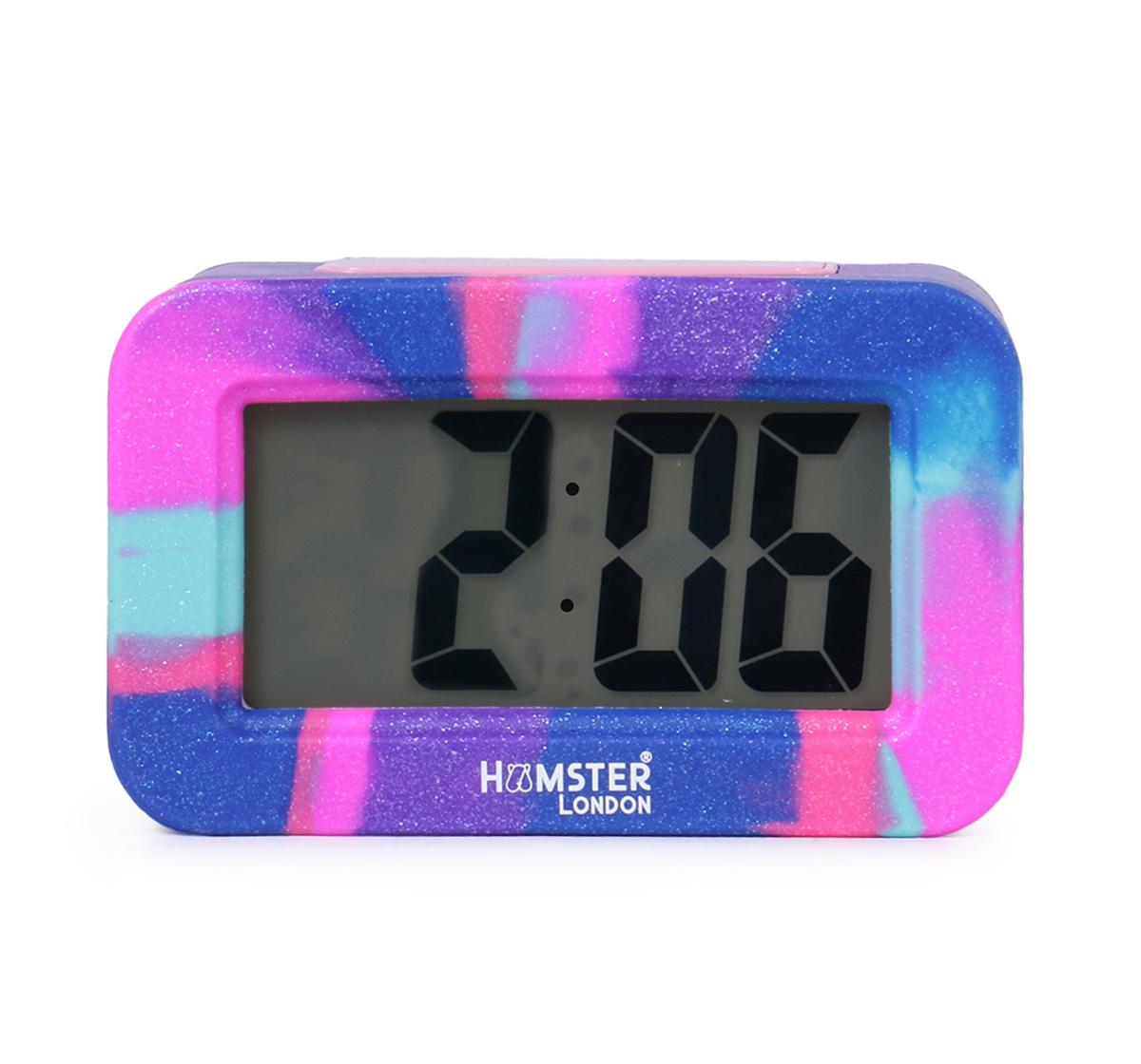 Hamster London   Hamster London Digital Silicon Alarm Clock Pink, 6Y+