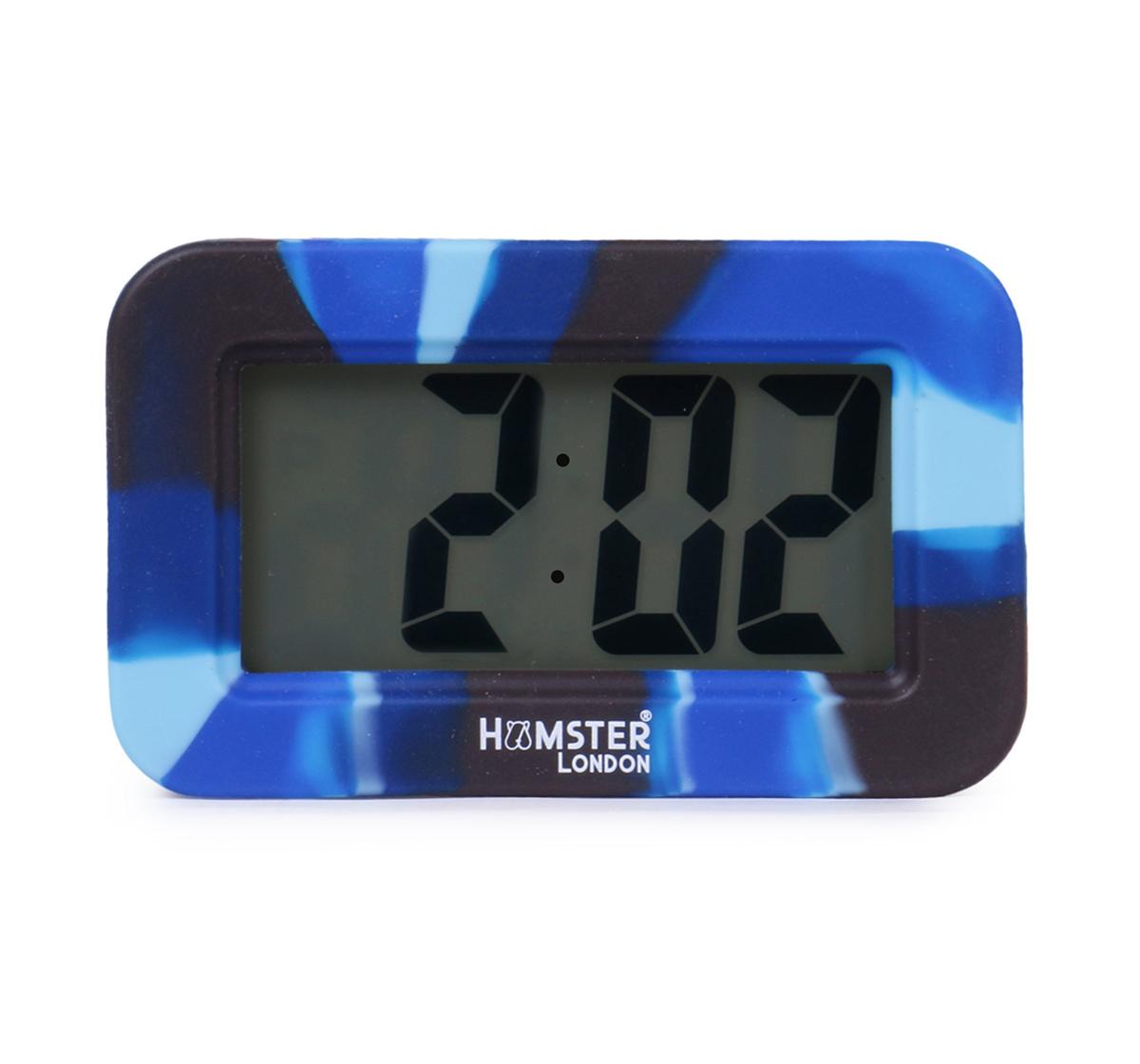 Hamster London | Hamster London Digital Silicon Alarm Clock Blue, 6Y+