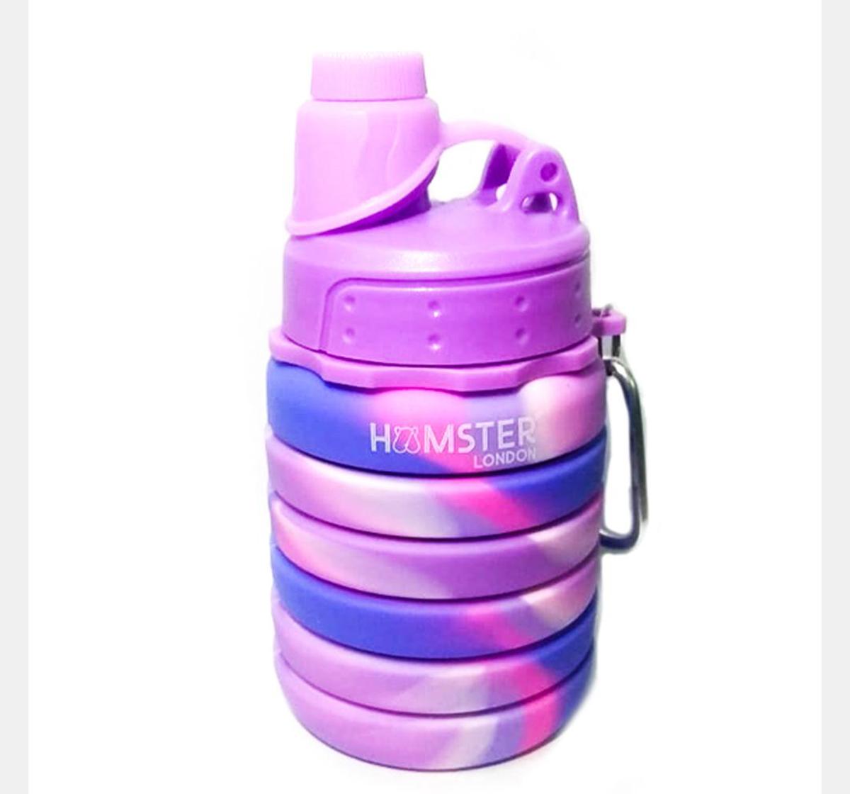 Hamster London | Hamster London Bendable Bottle Pink Purple, 4Y+