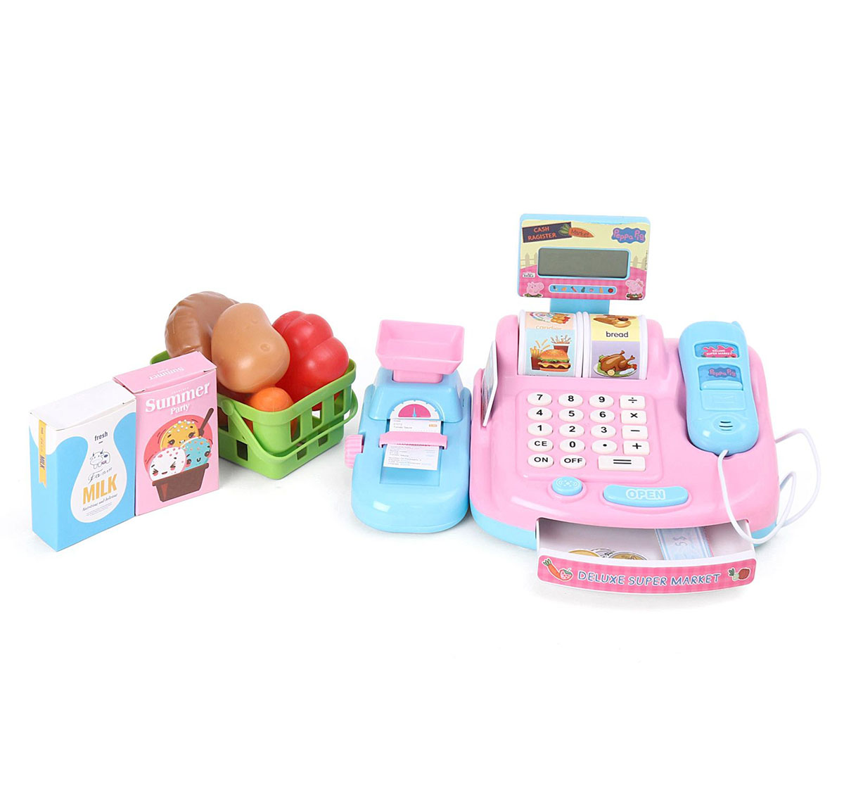 Peppa Pig | Peppa Mini Cash Register Set with Sound for Girls age 3Y+