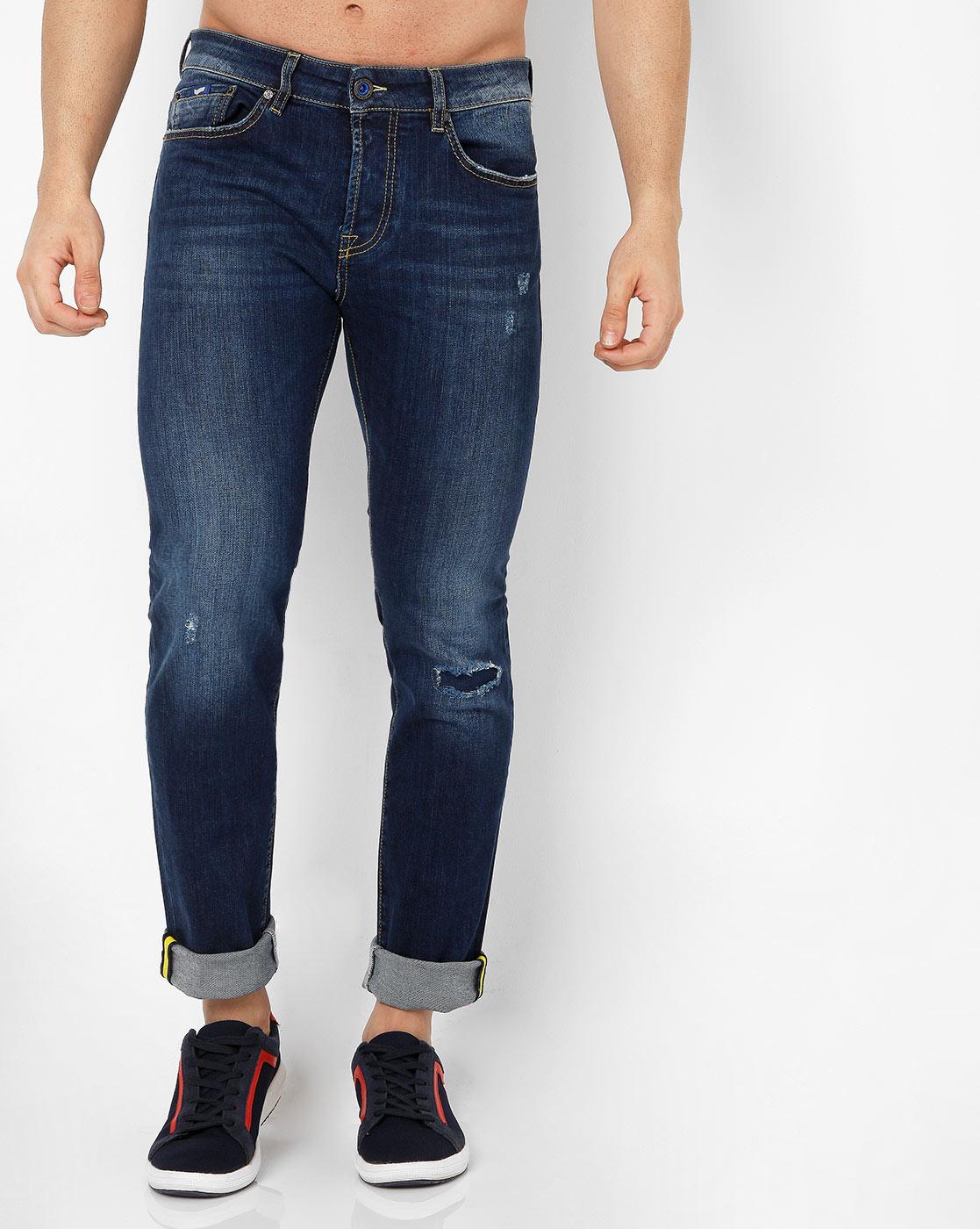GAS | Men's Anders Slim Fit Blue Jeans