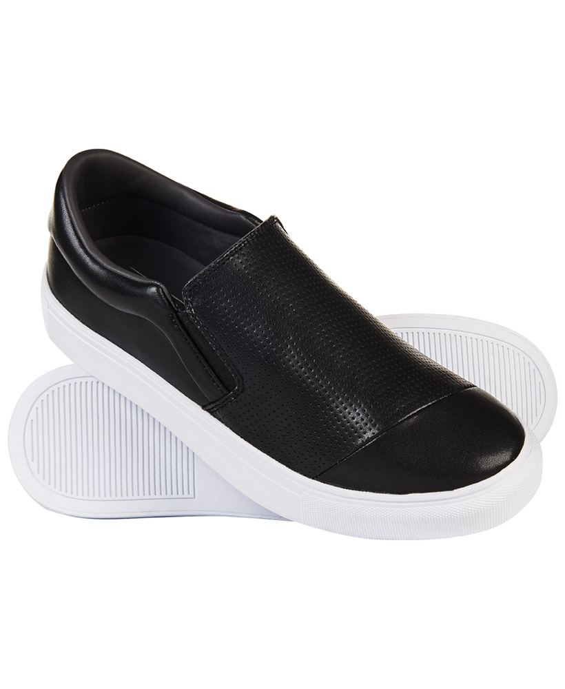 Superdry   Brayson Premium Black Sneakers
