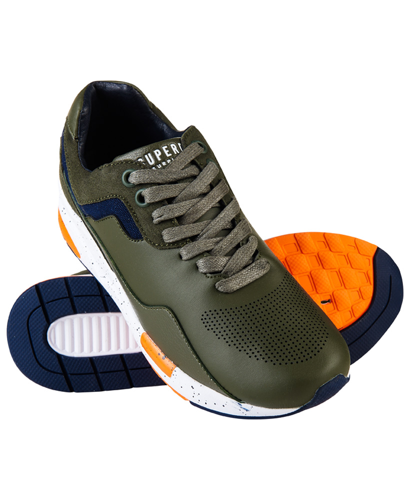 Superdry | Superdry Surplus Goods Dark Olive Sneakers