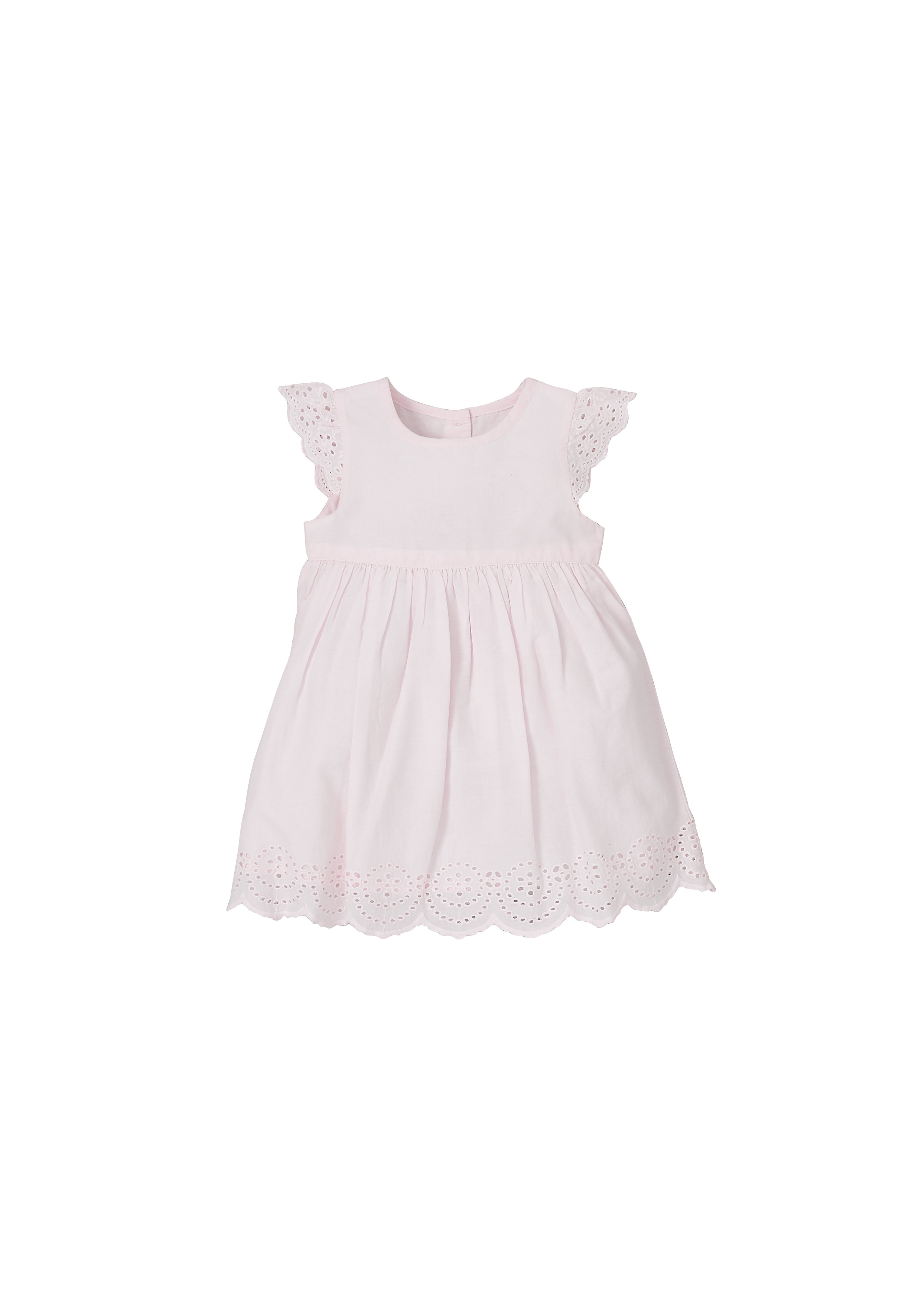 Mothercare | Pink Girls Pink Broderie Dress
