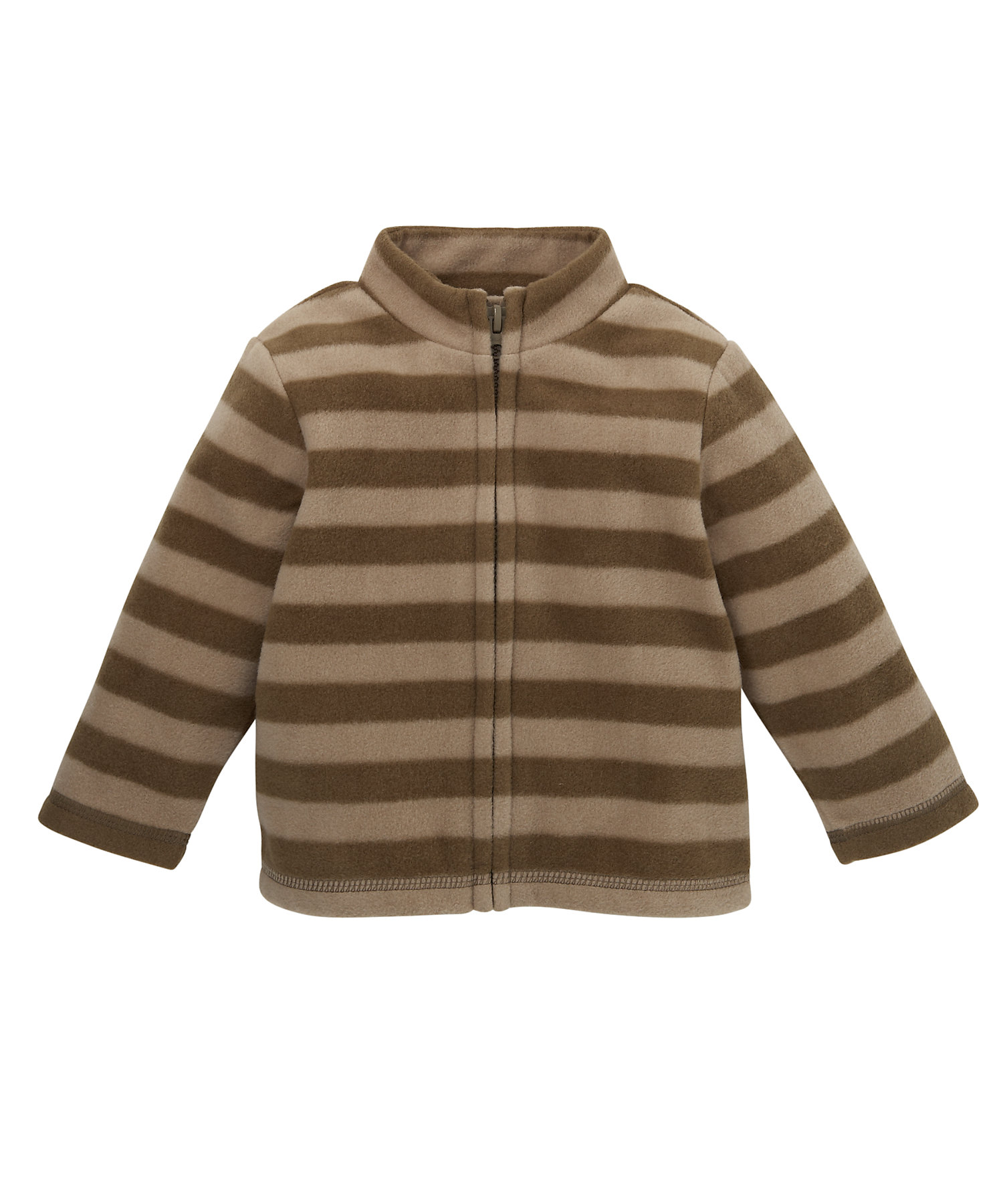Mothercare   Boys Full Sleeves Sweatshirt Striped - Brown