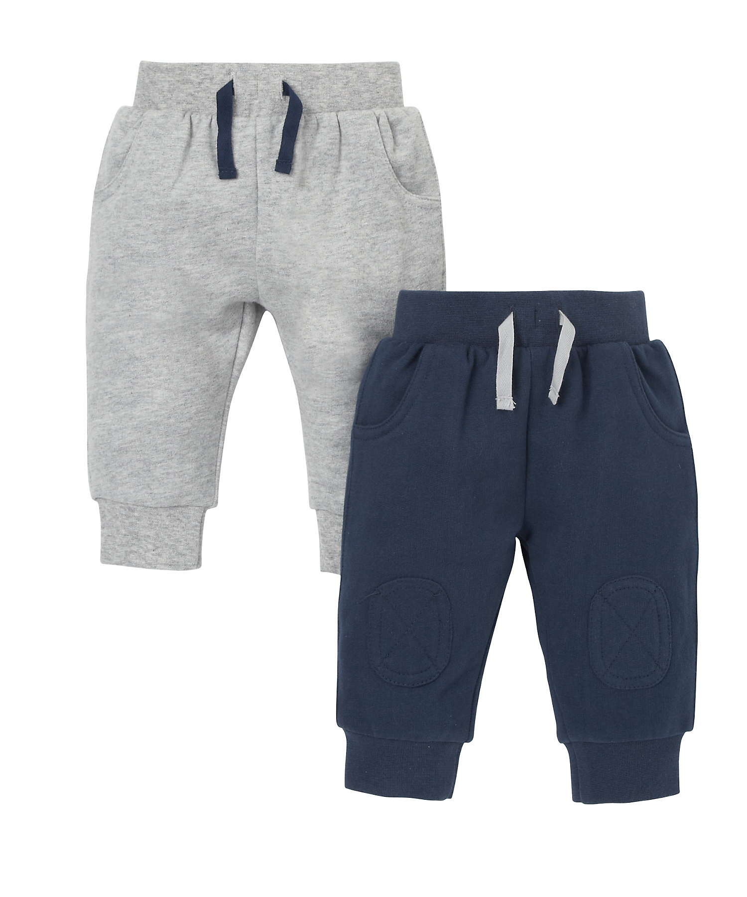 Mothercare | Boys Joggers - Pack Of 2 - Multicolor