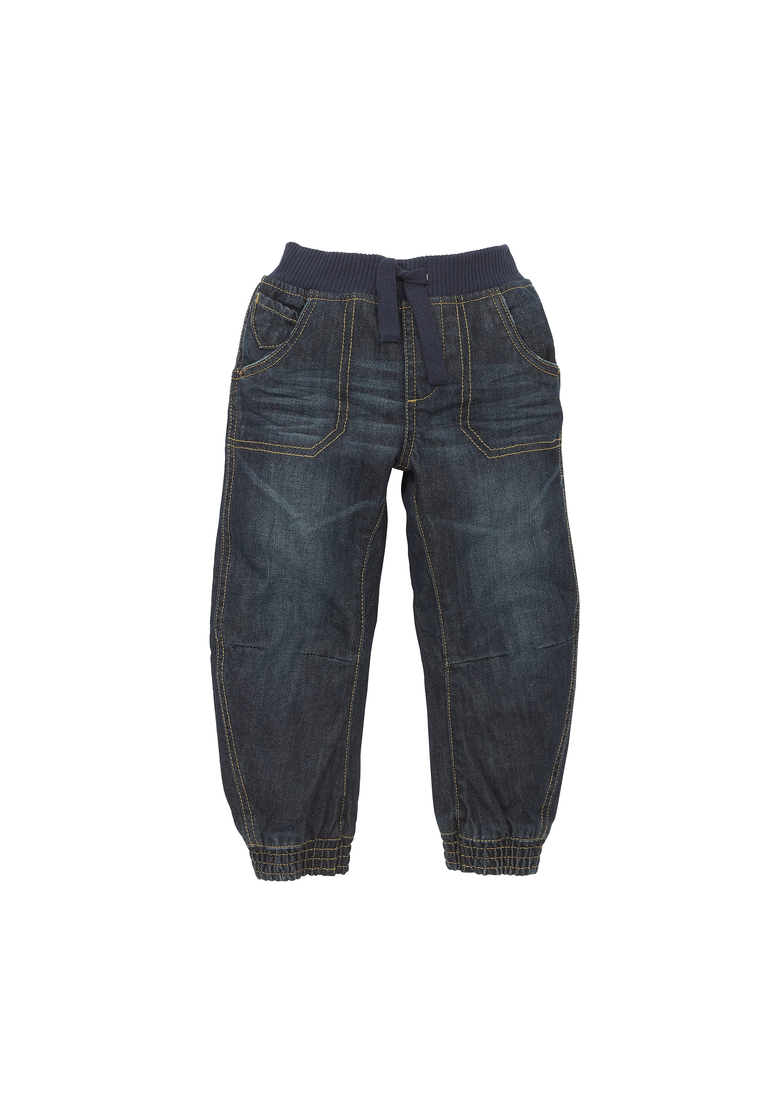 Mothercare | Boys Ribwaist Twisted Seam Jeans - Denim