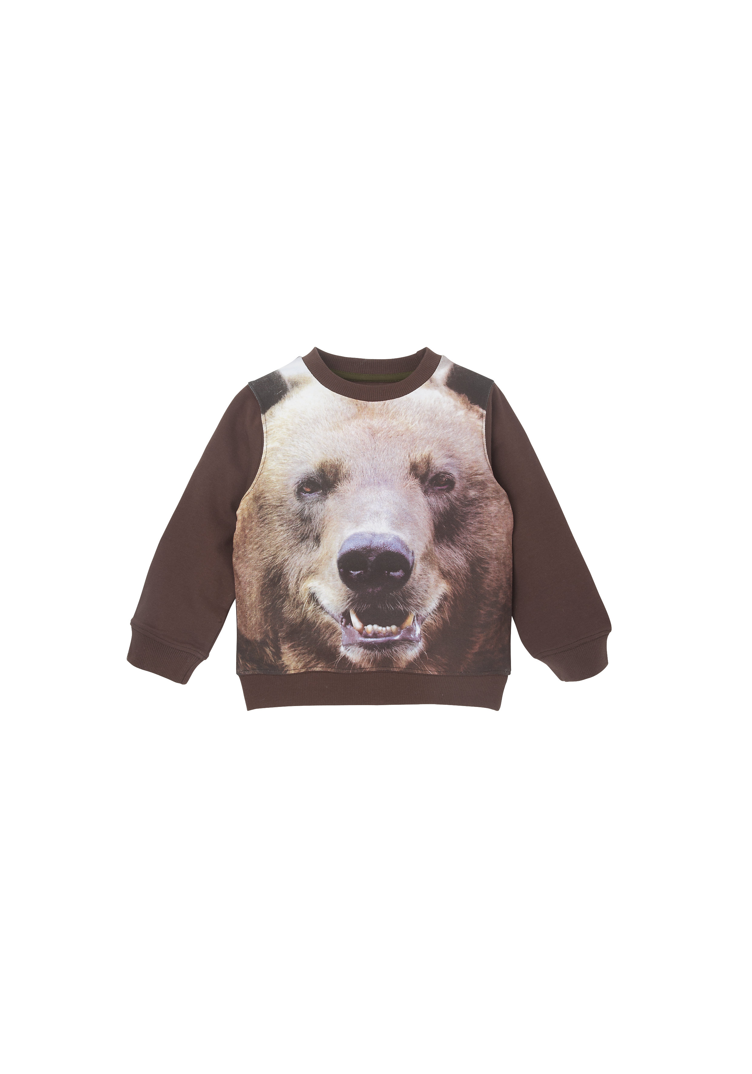 Mothercare | Boys  Bear Photographic Sweat Top - Multicolor