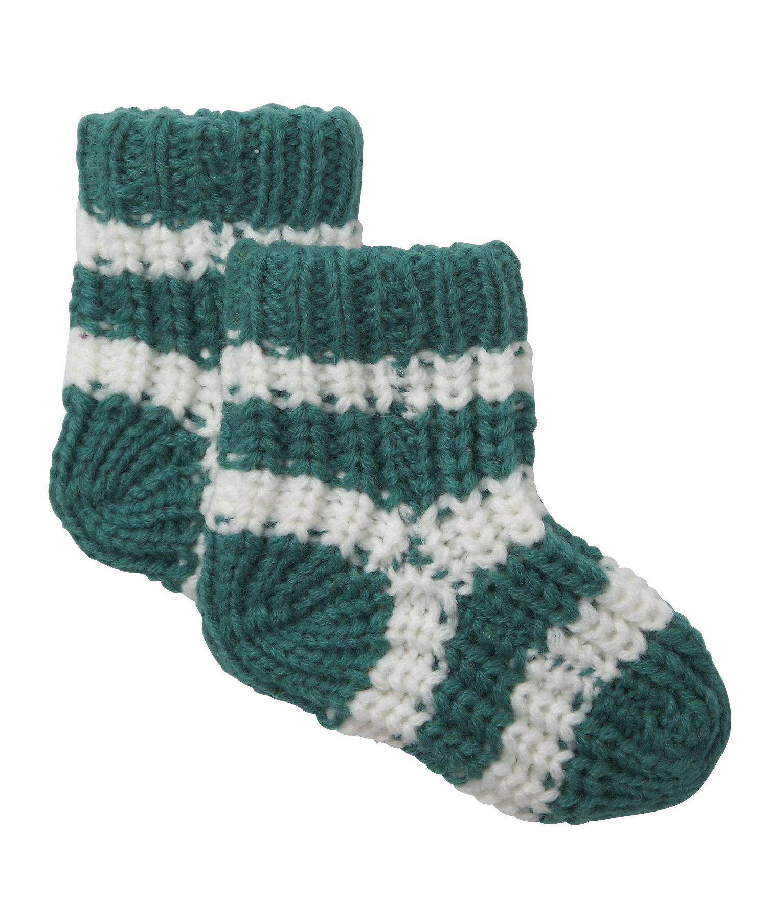 Mothercare   Boys Socks Chunky Knit - Green