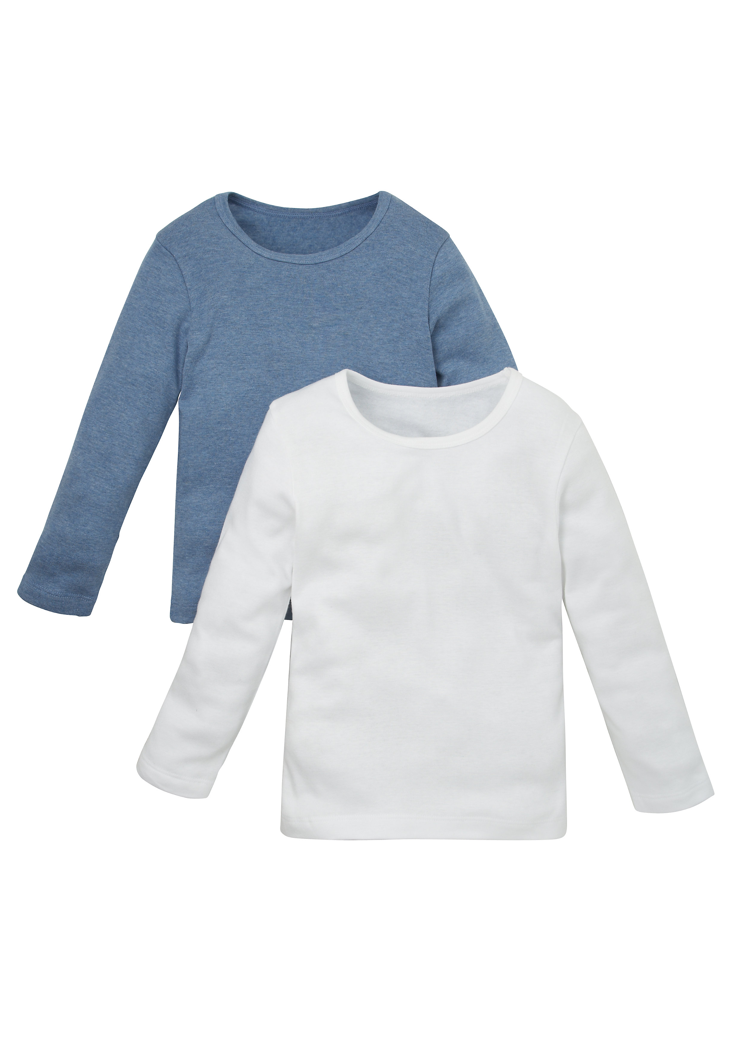 Mothercare   Boys Full Sleeves Thermal Vest  - Pack Of 2 - Multicolor