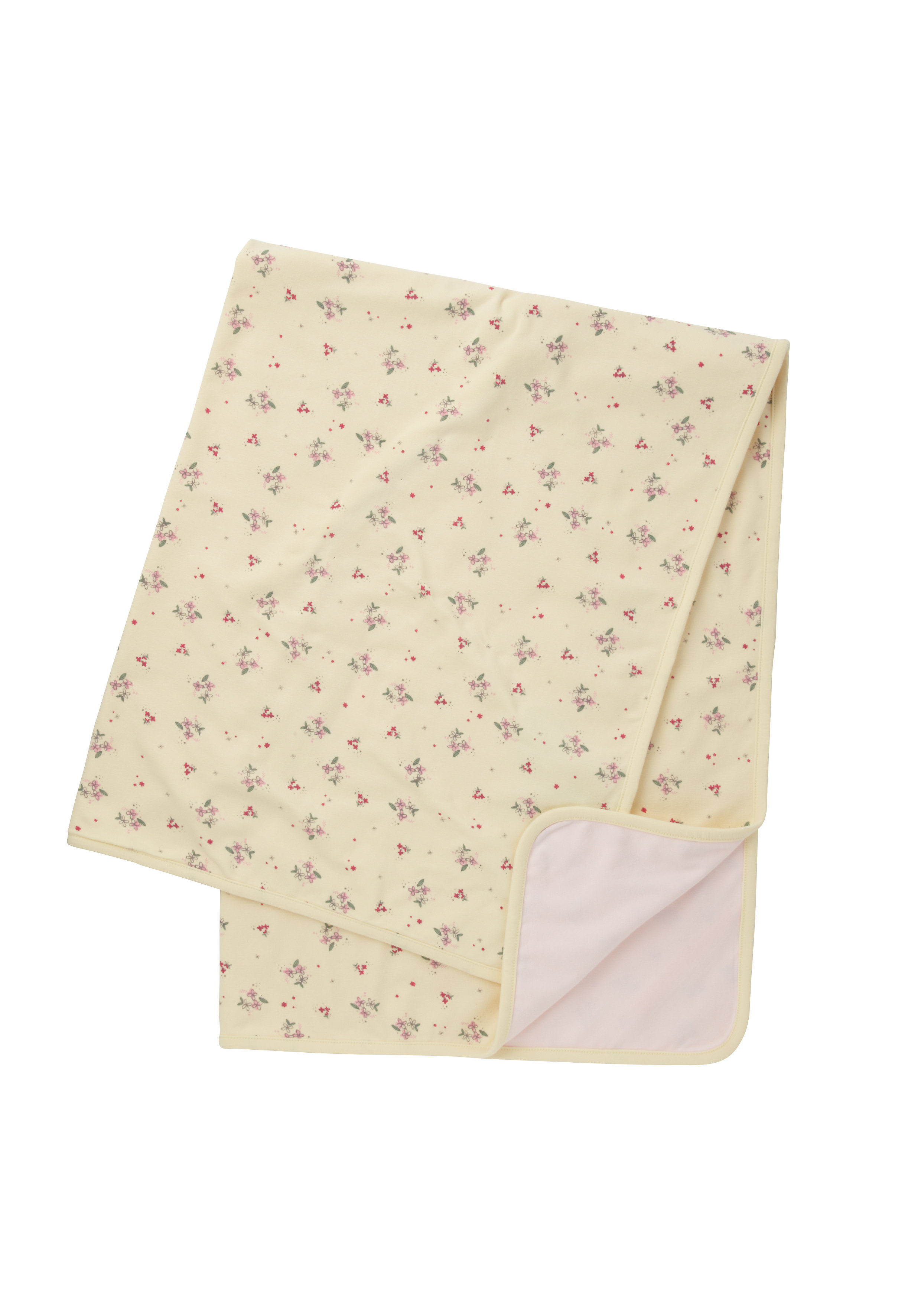 Mothercare | Girls Shawl Floral Print - Yellow