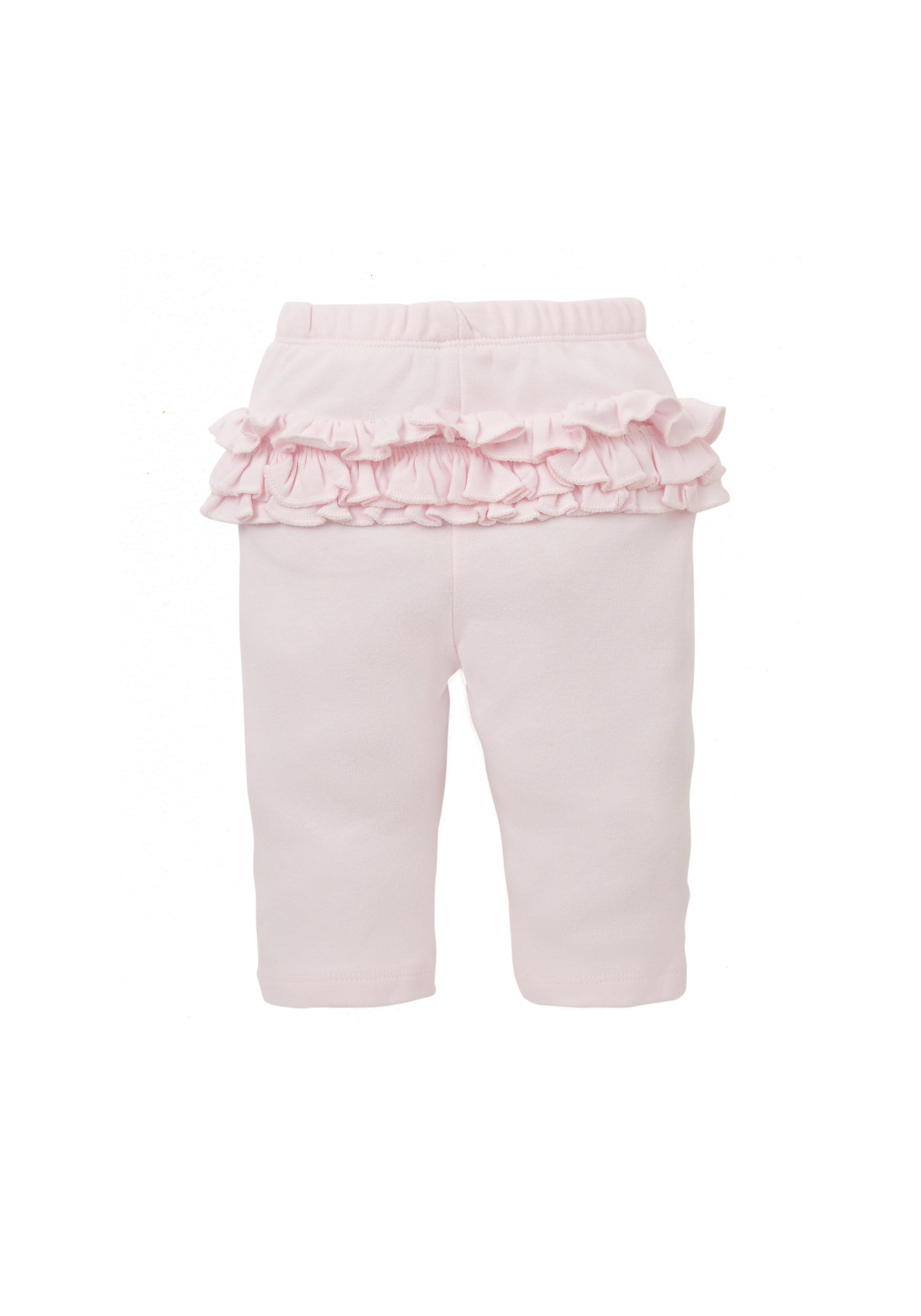Mothercare | Girls Frilly Leggings - Pink