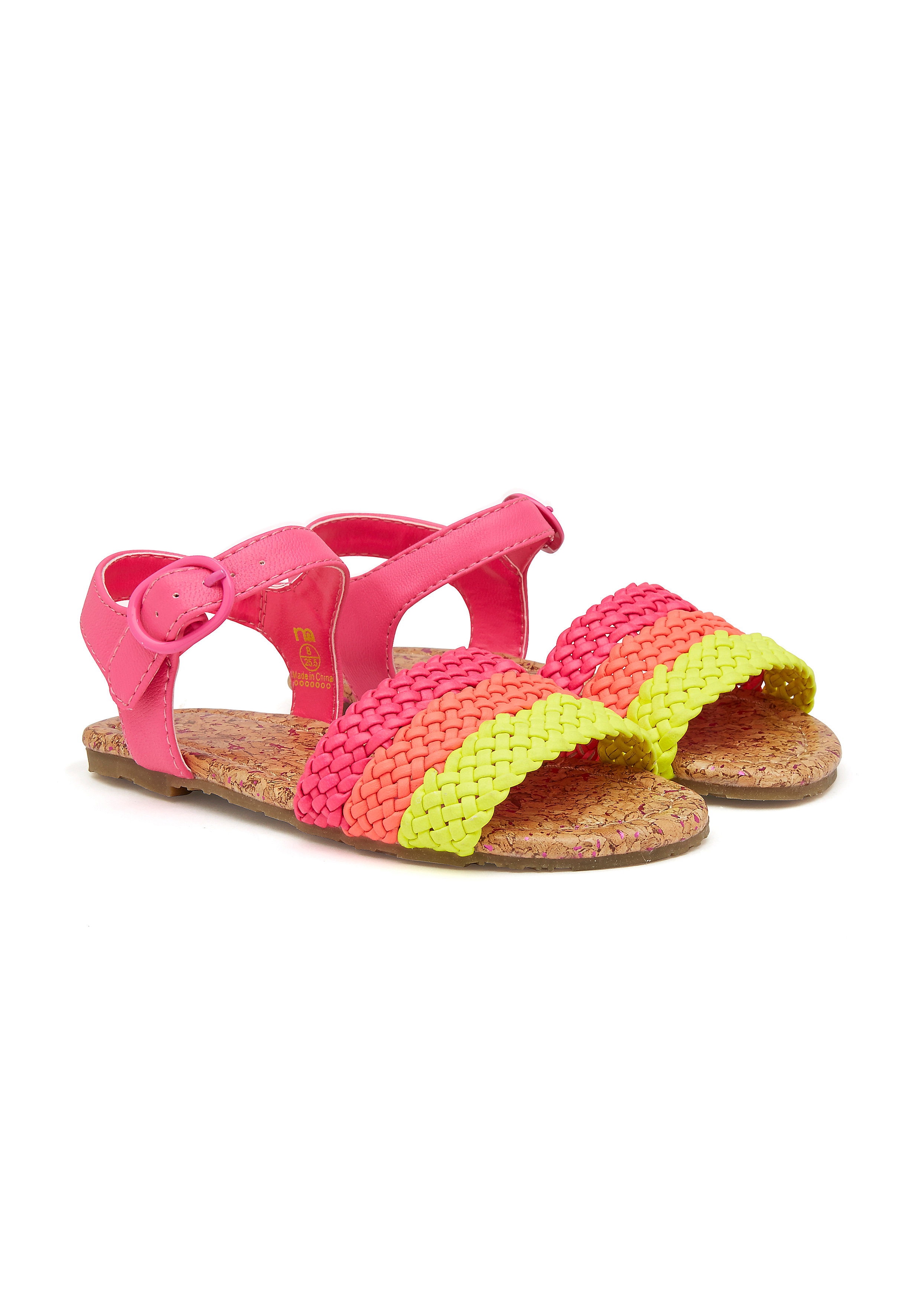 Mothercare | Girls Woven Strap Sandals