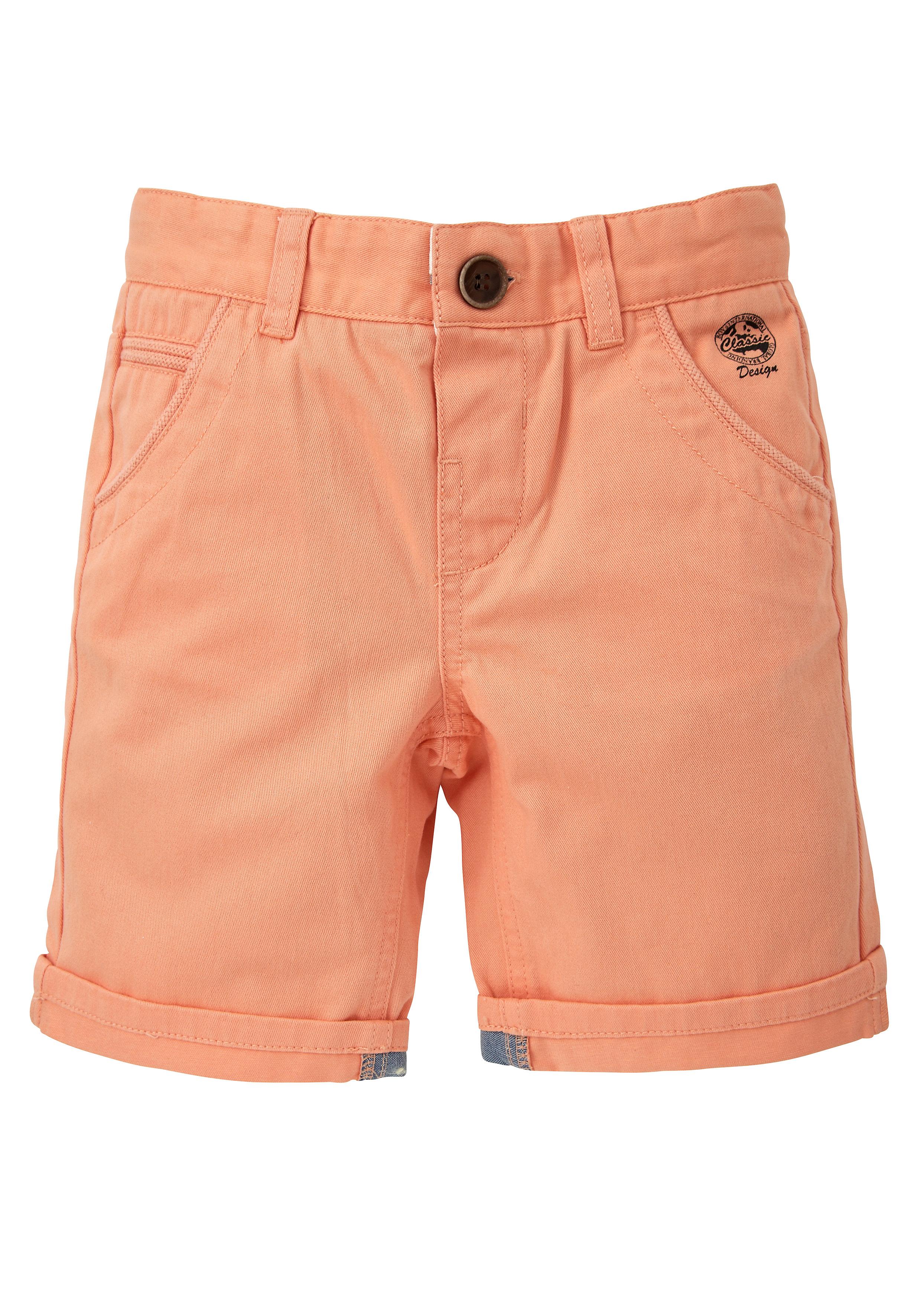 Mothercare   Boys Orange Twill Shorts
