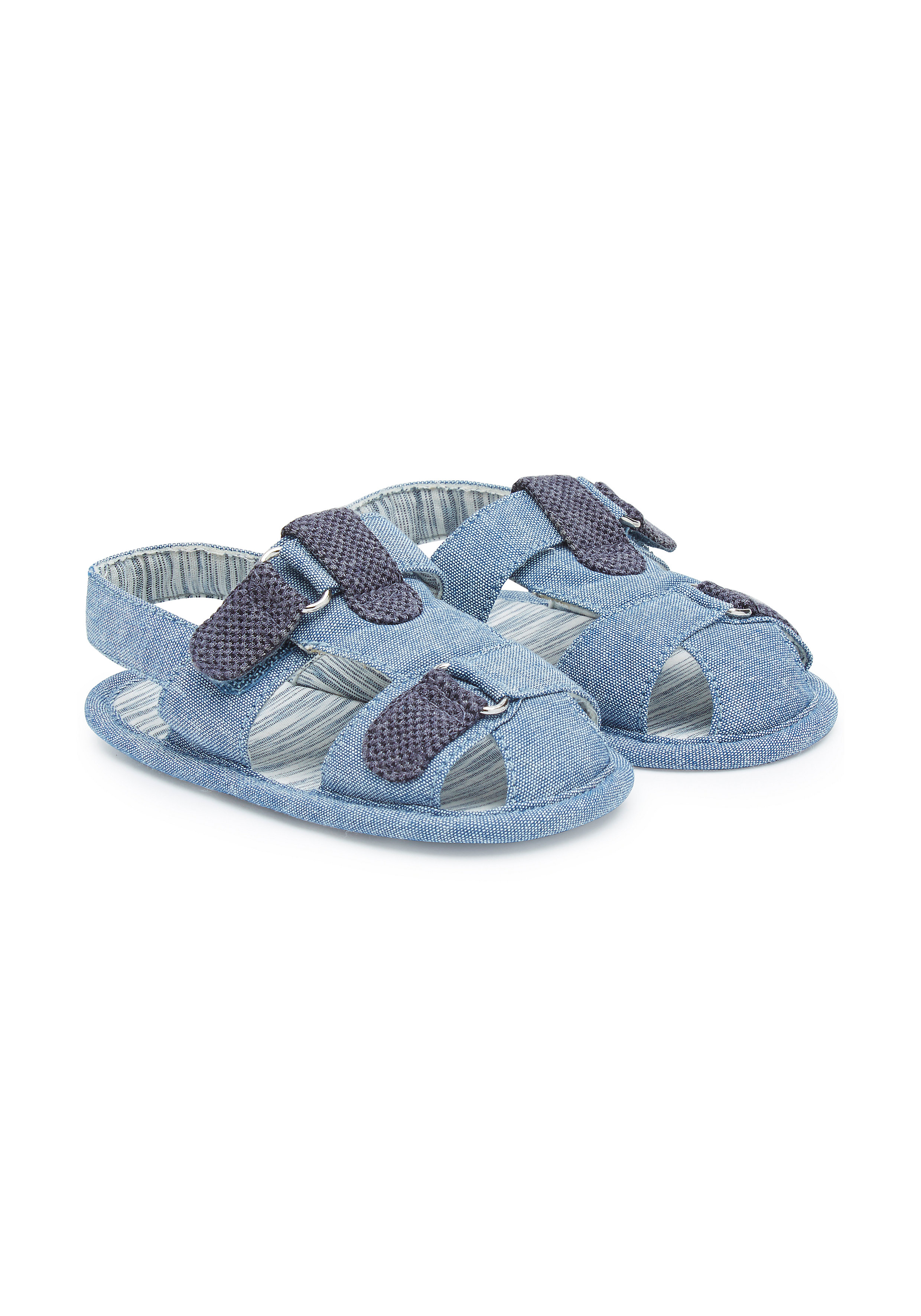 Mothercare | Boys Chambray Sandals - Blue