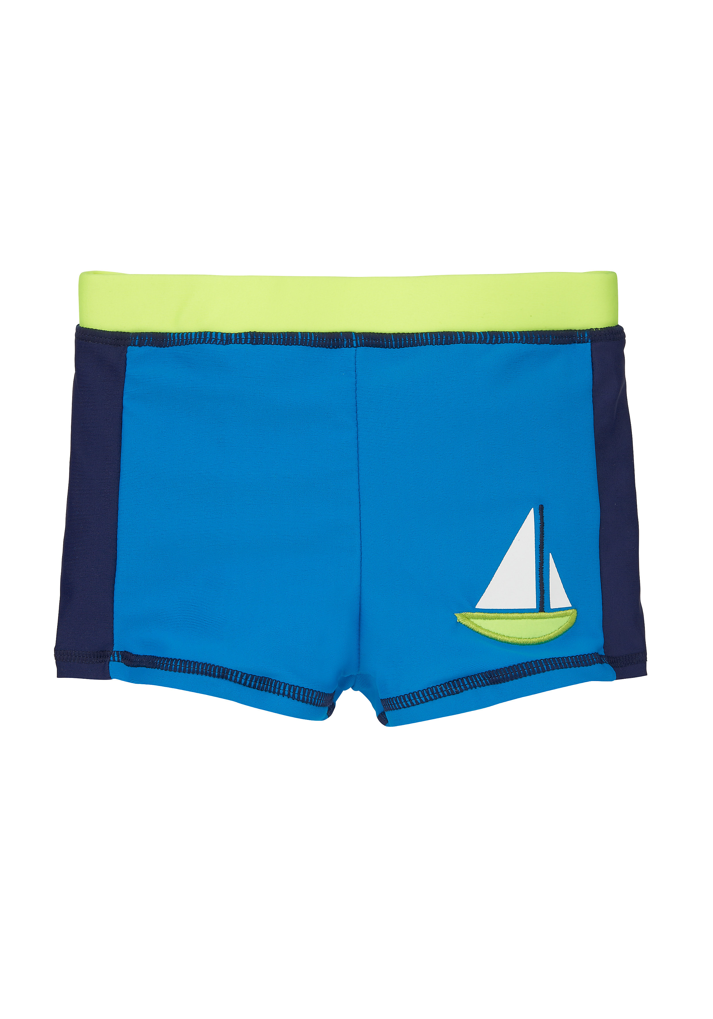Mothercare | Boys Swimming Trunks Boat Design - Blue