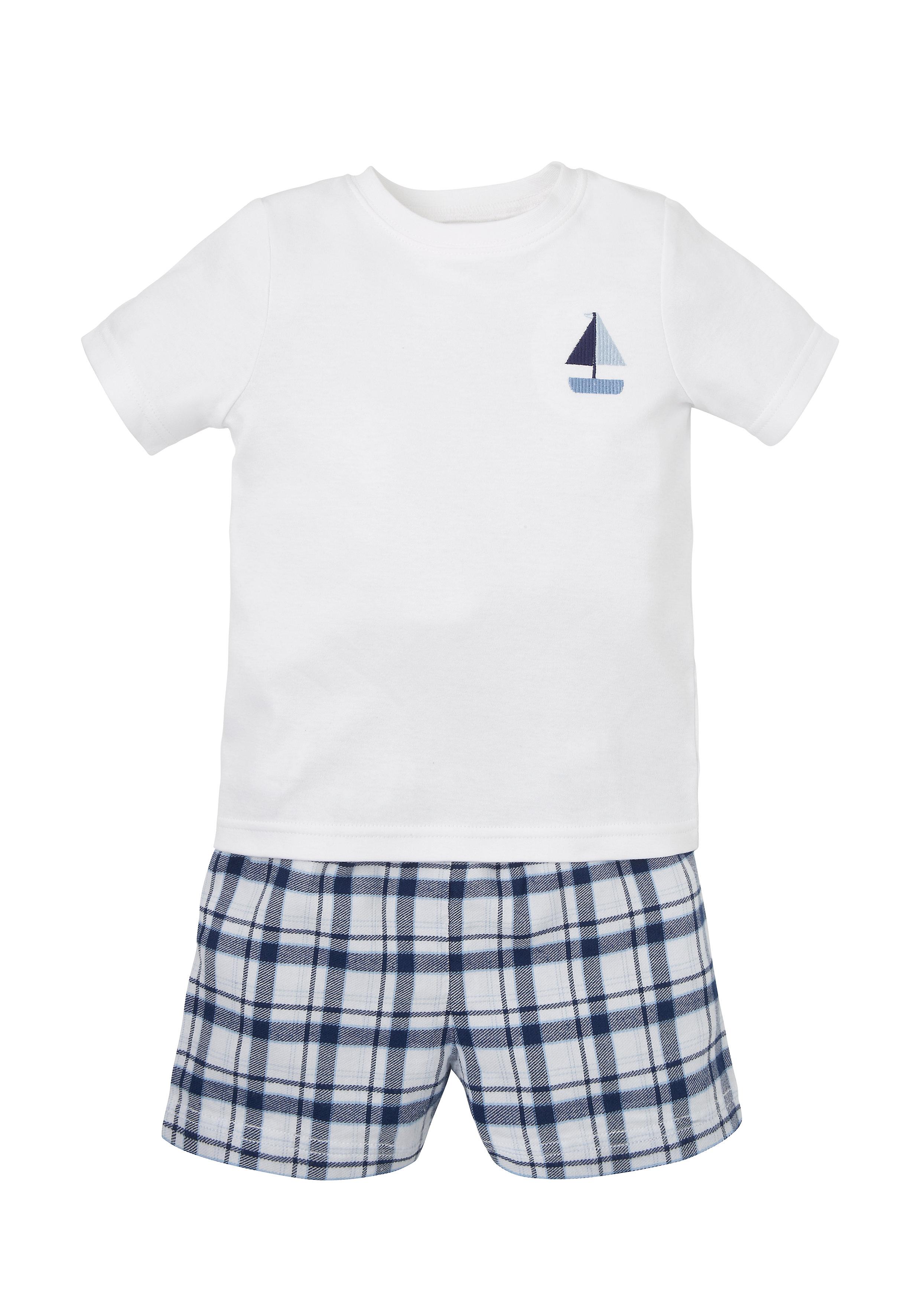 Mothercare | Multicolor Boys Boat Shortie Pyjamas