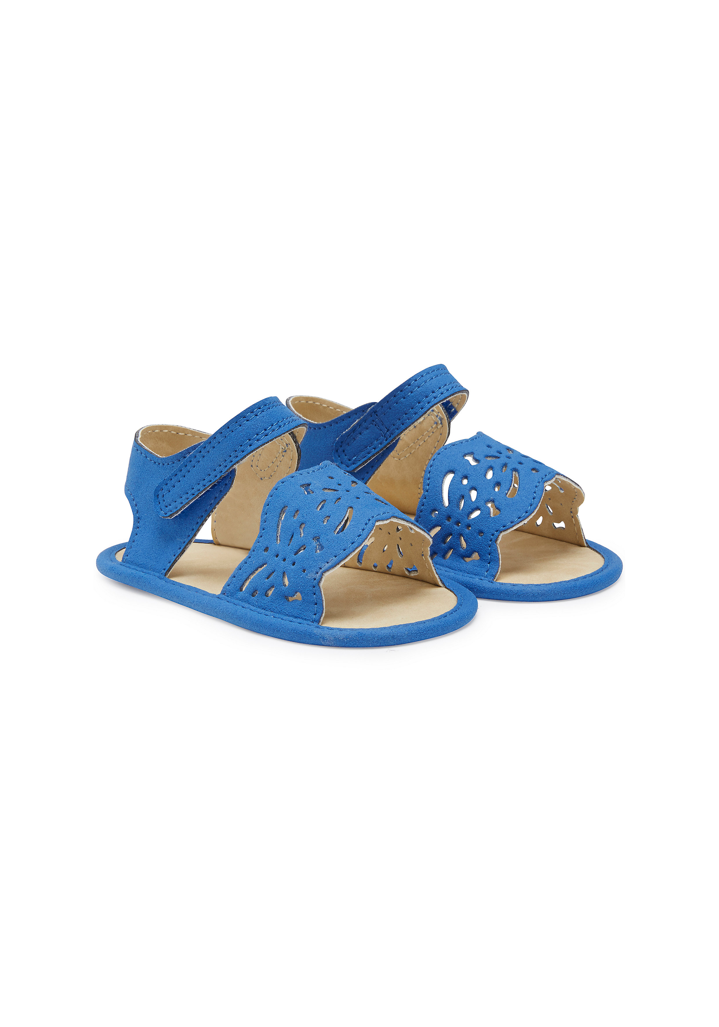 Mothercare | Girls Cut Out Sandals - Blue