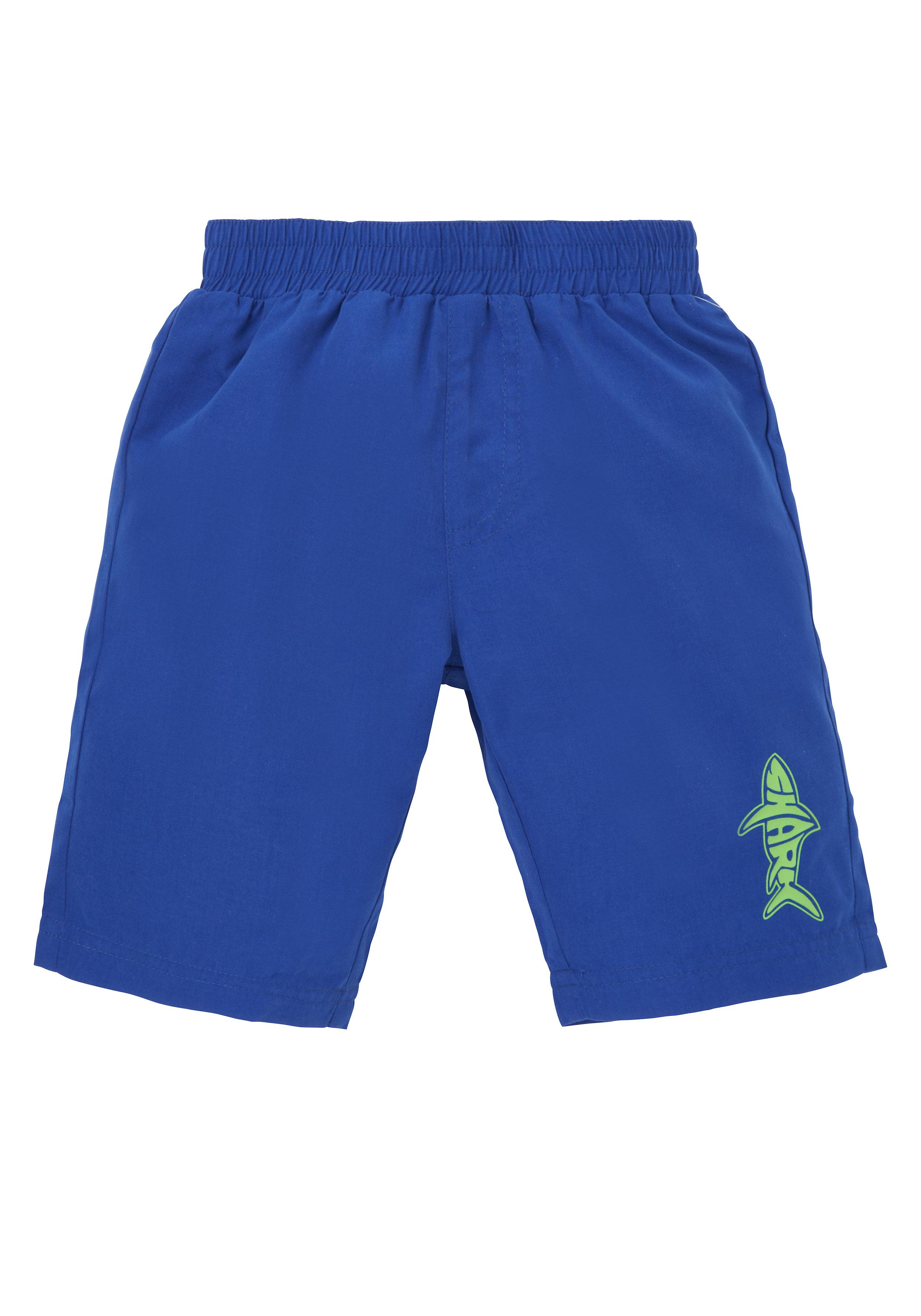 Mothercare | Boys Swimming Shorts Shark Print - Blue