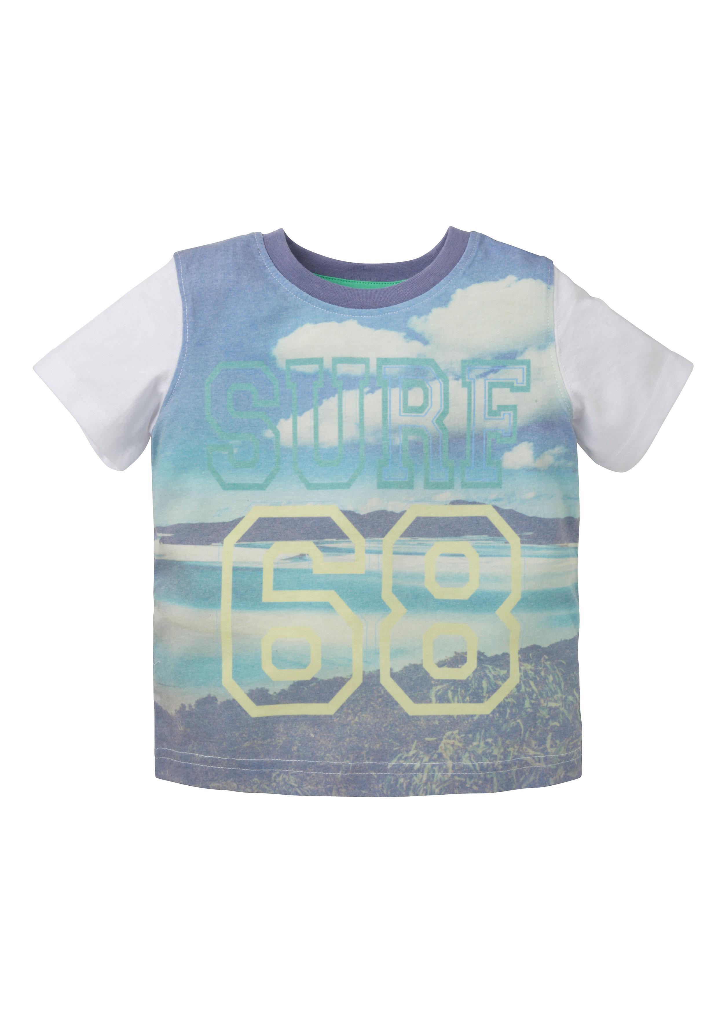 Mothercare | Boys Surf 68 T-Shirt - Stone