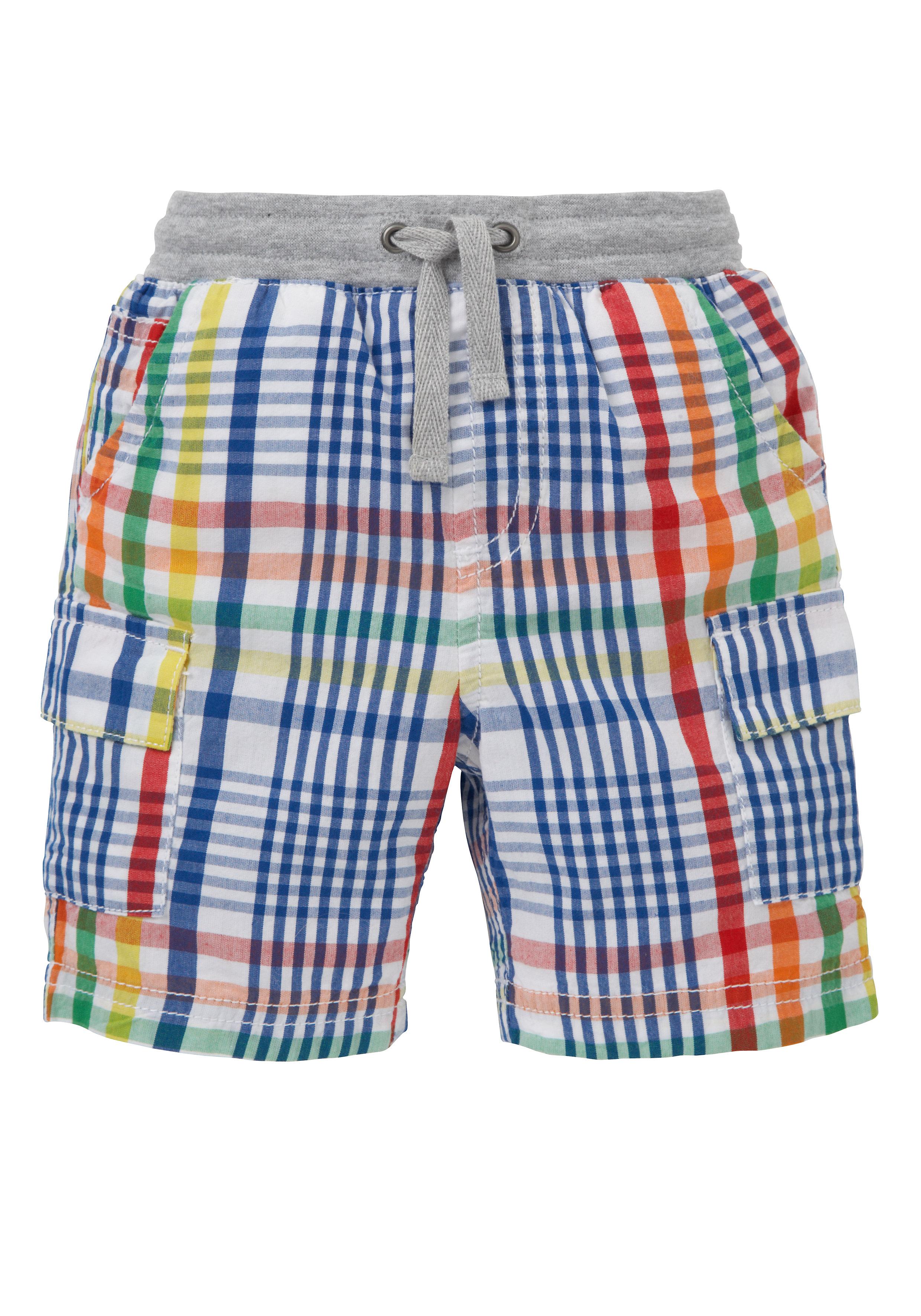 Mothercare | Boys Cargo Shorts Checks - Multicolor