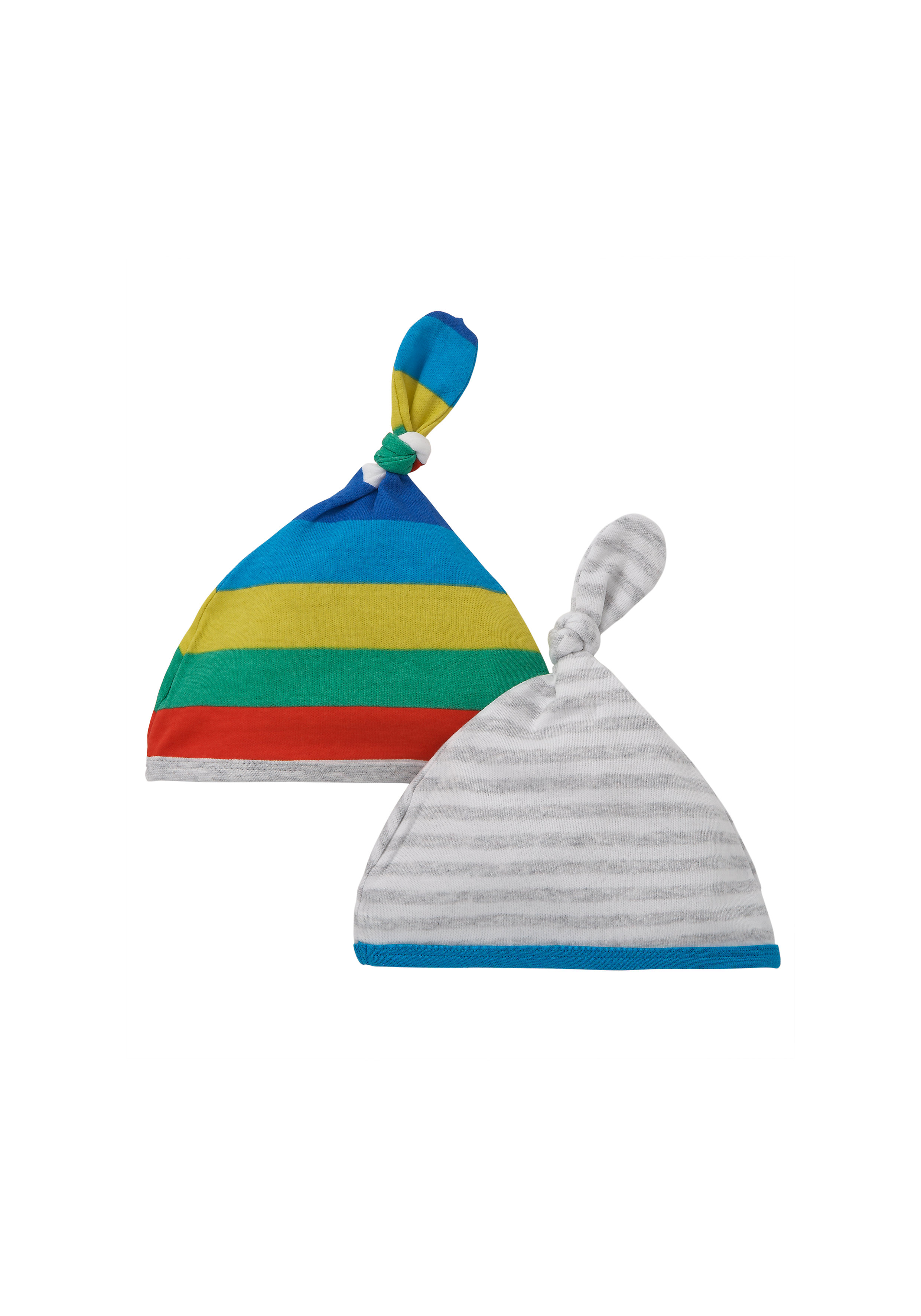 Mothercare | Boys Mummy And Daddy Hats - Pack Of 2 - Multicolor