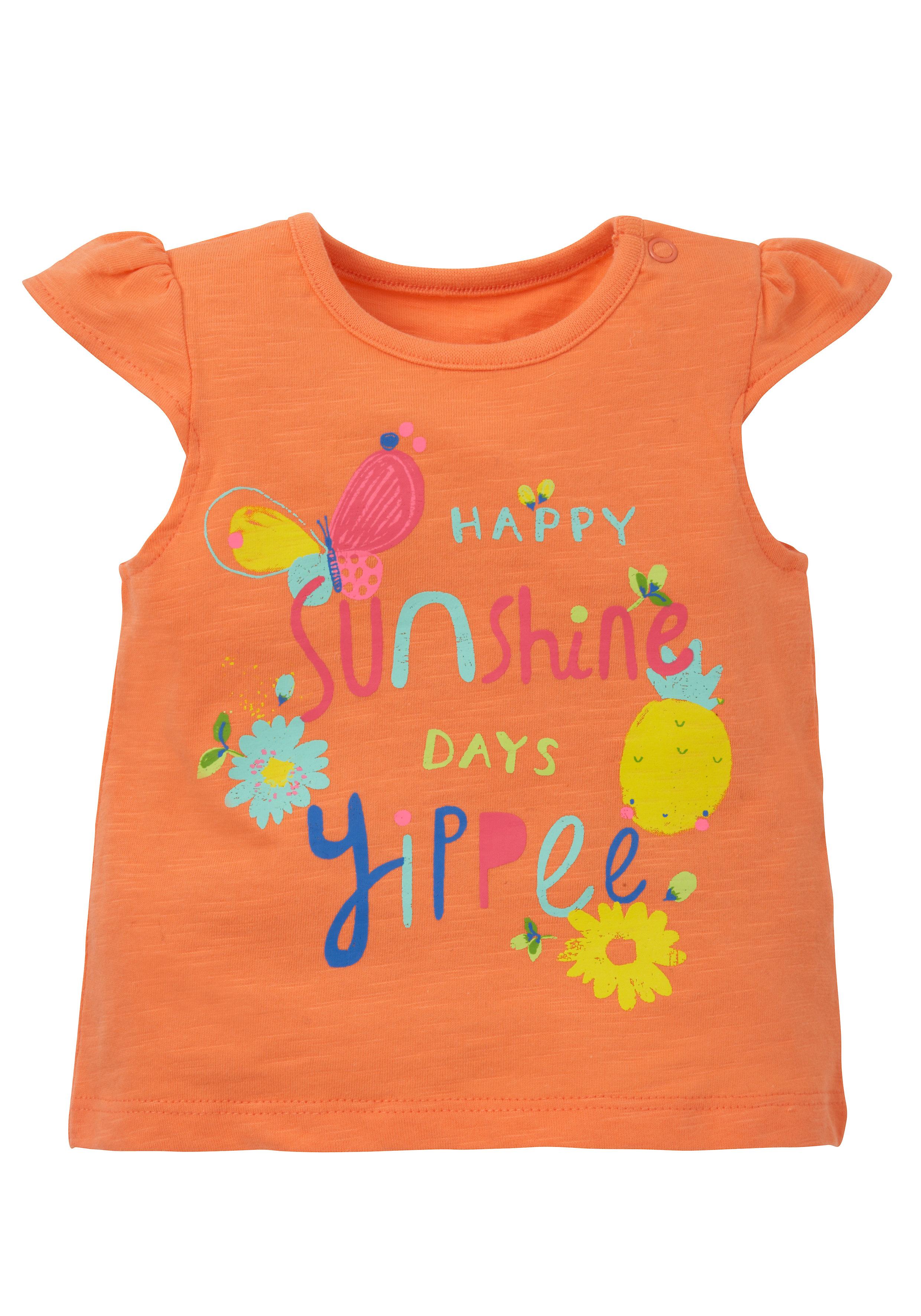 Mothercare | Girls Text Print T-Shirt