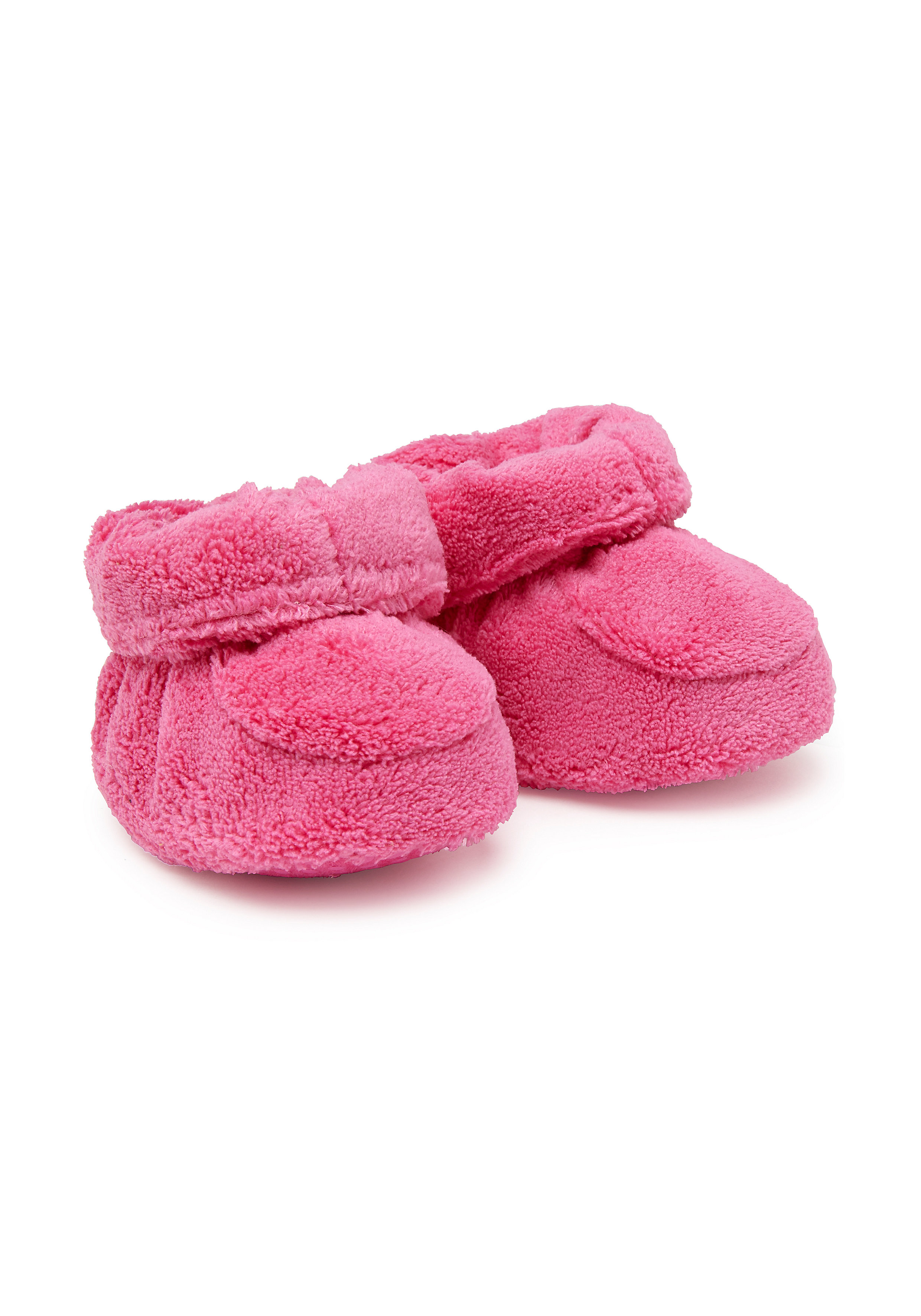 Mothercare | Girls Fluffy Booties - Pink