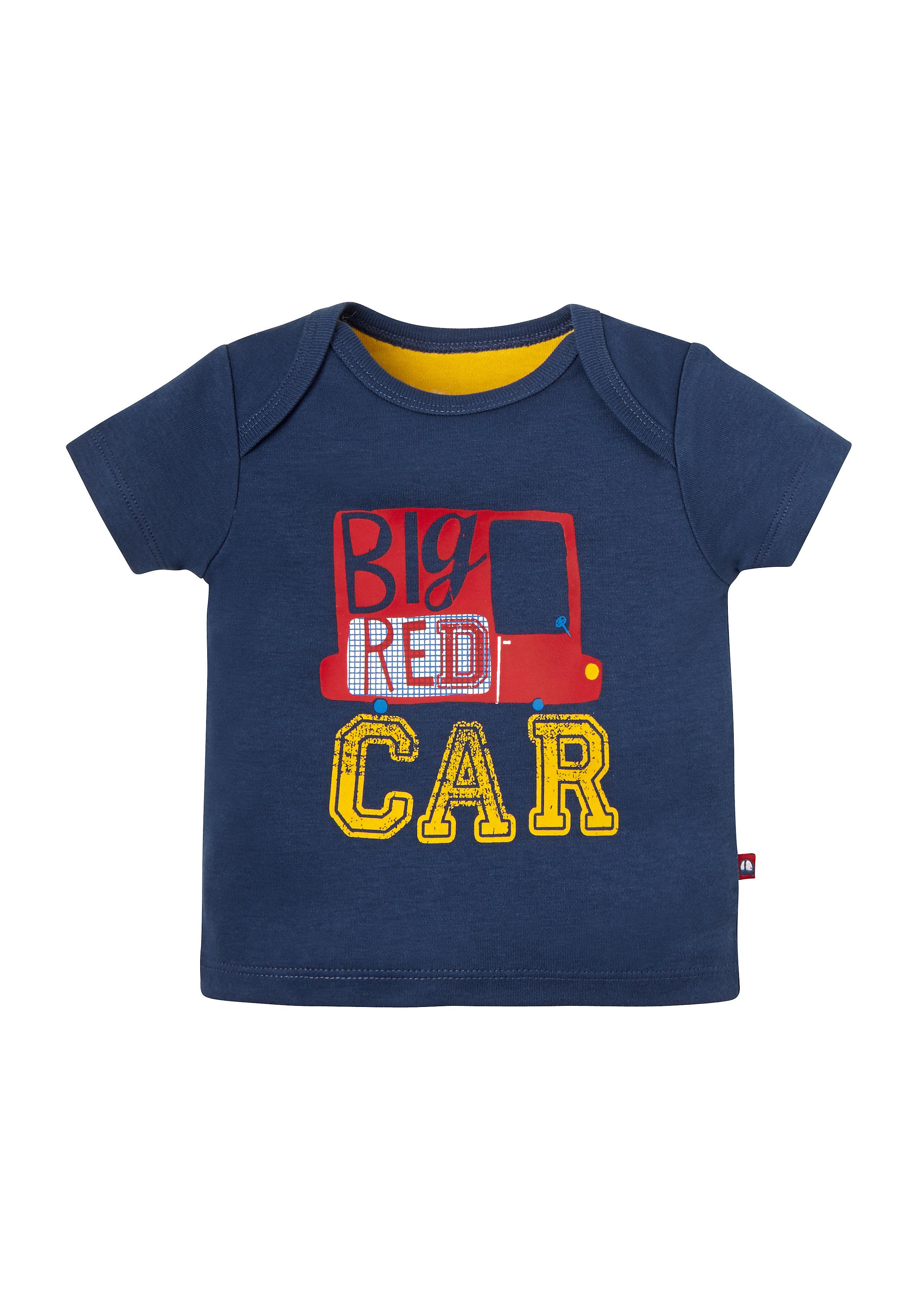 Mothercare | Boys Big Car T-Shirt - Navy