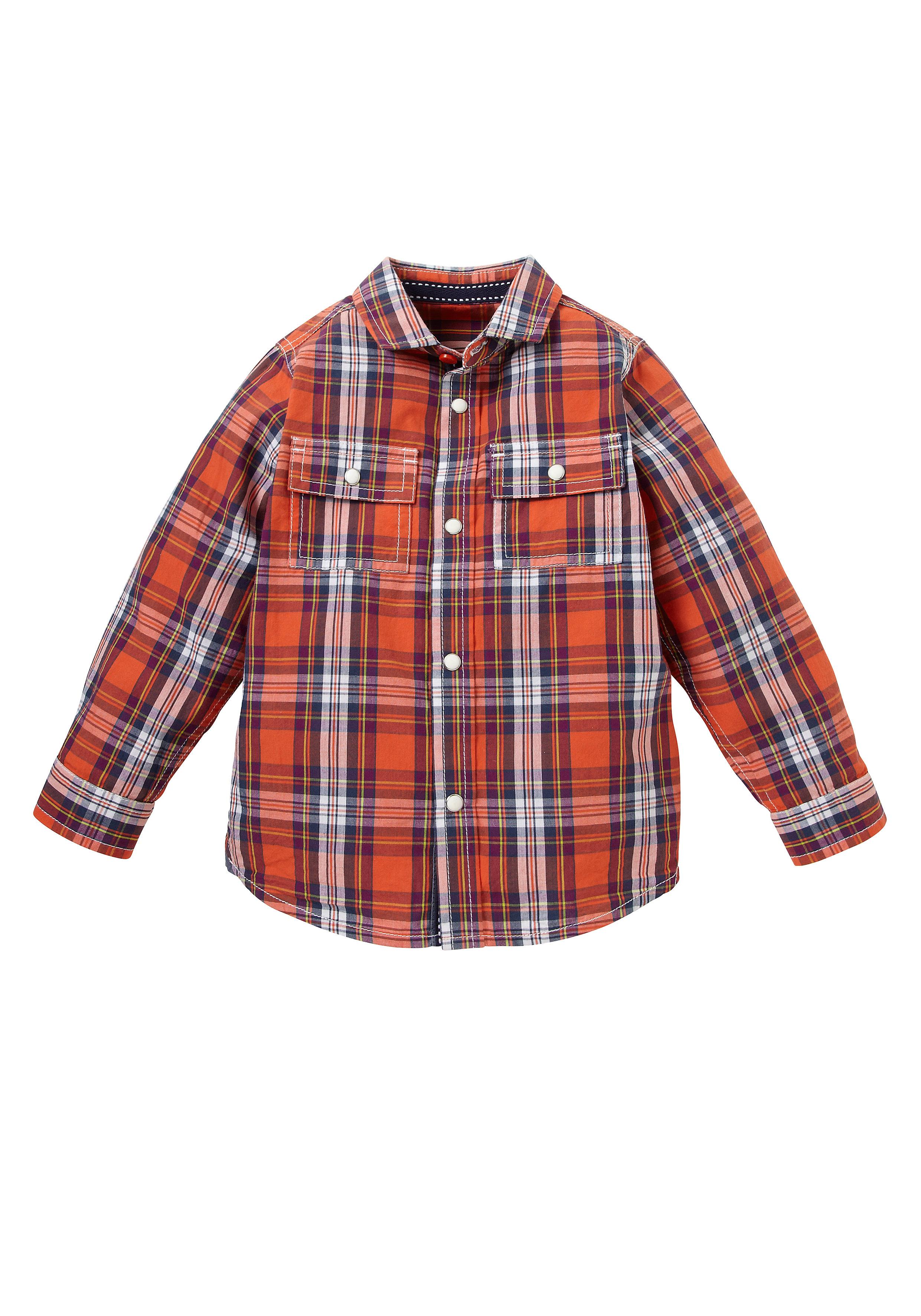 Mothercare | Boys  Check Shirt - Orange