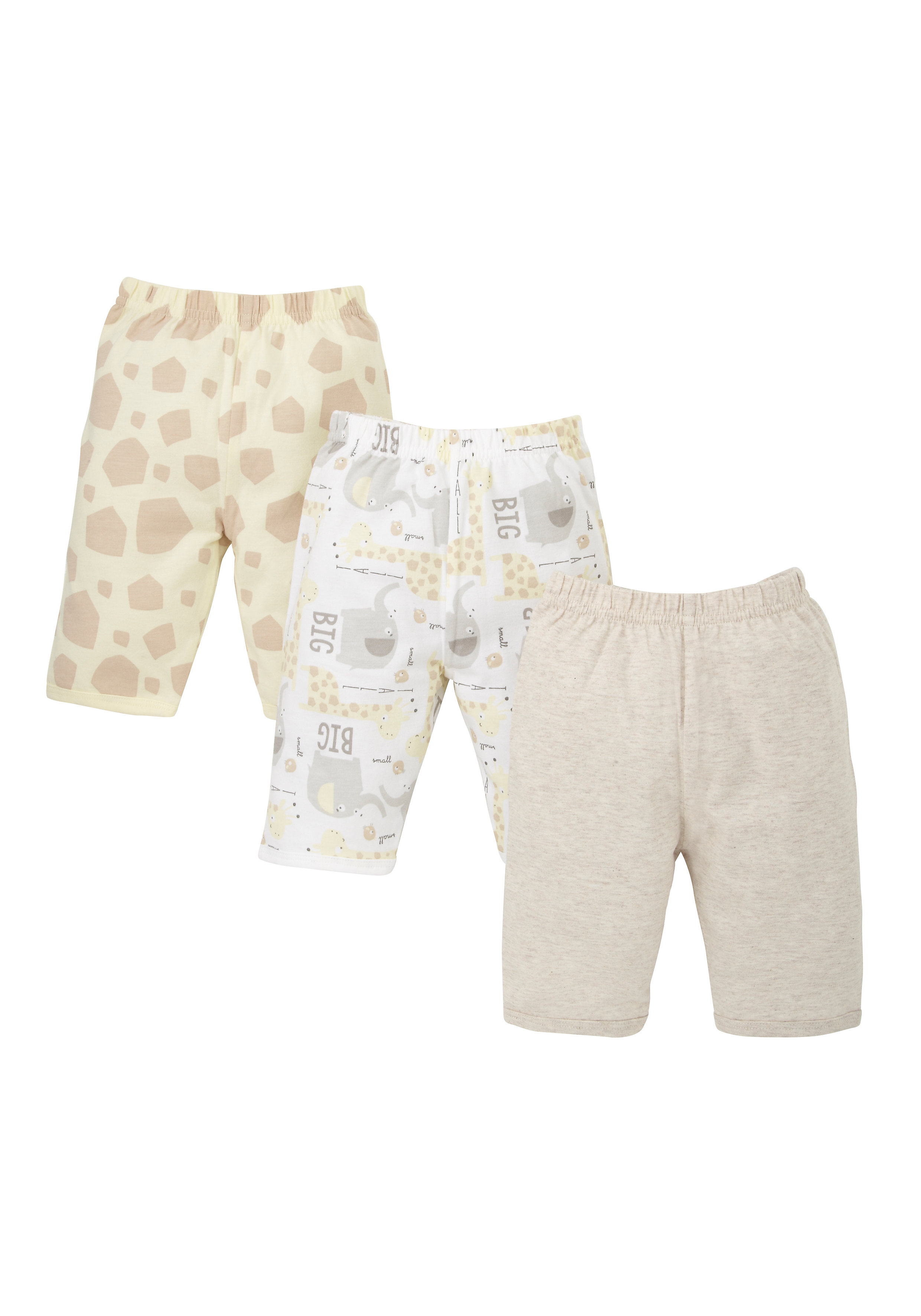 Mothercare | Unisex Pyjama Bottom Set - Pack of 3 - Multicolor