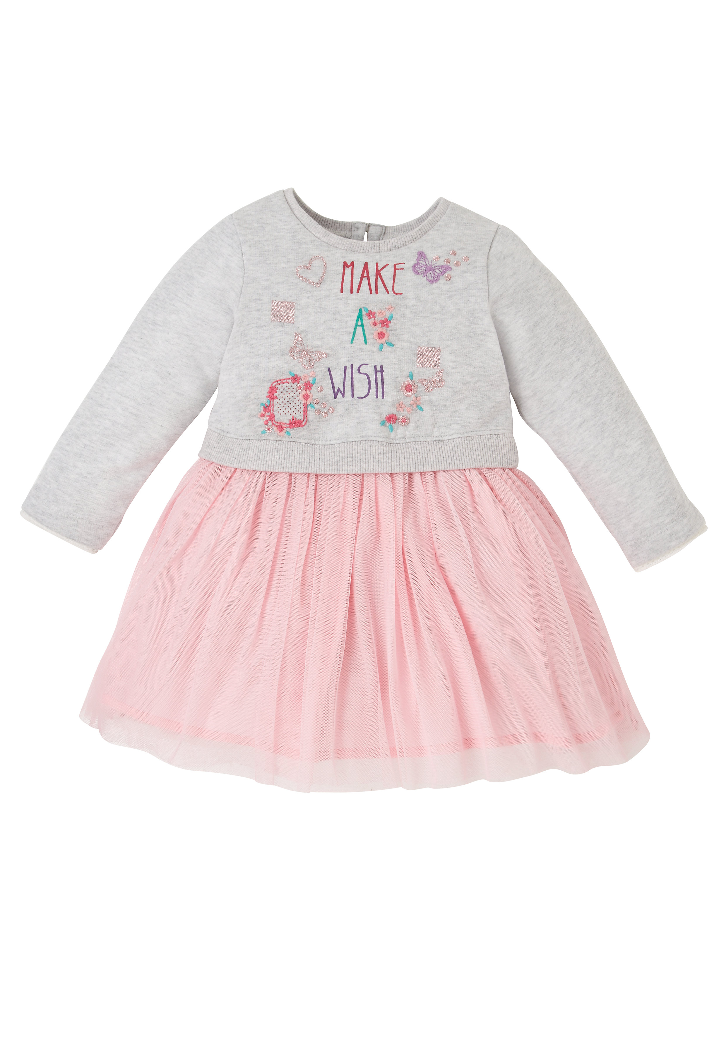 Mothercare | Girls Full Sleeves Dress Tutu - Multicolor
