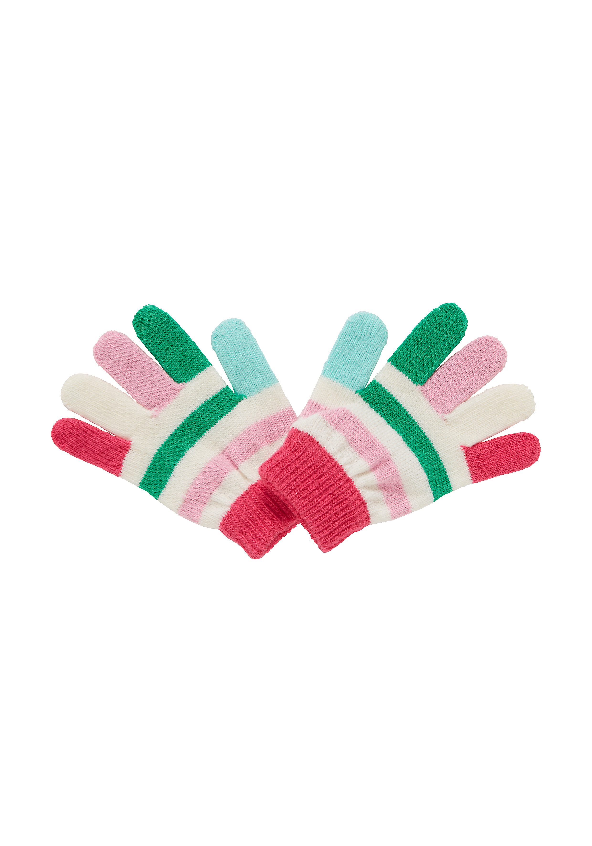 Mothercare | Girls Gloves Striped - Multicolor