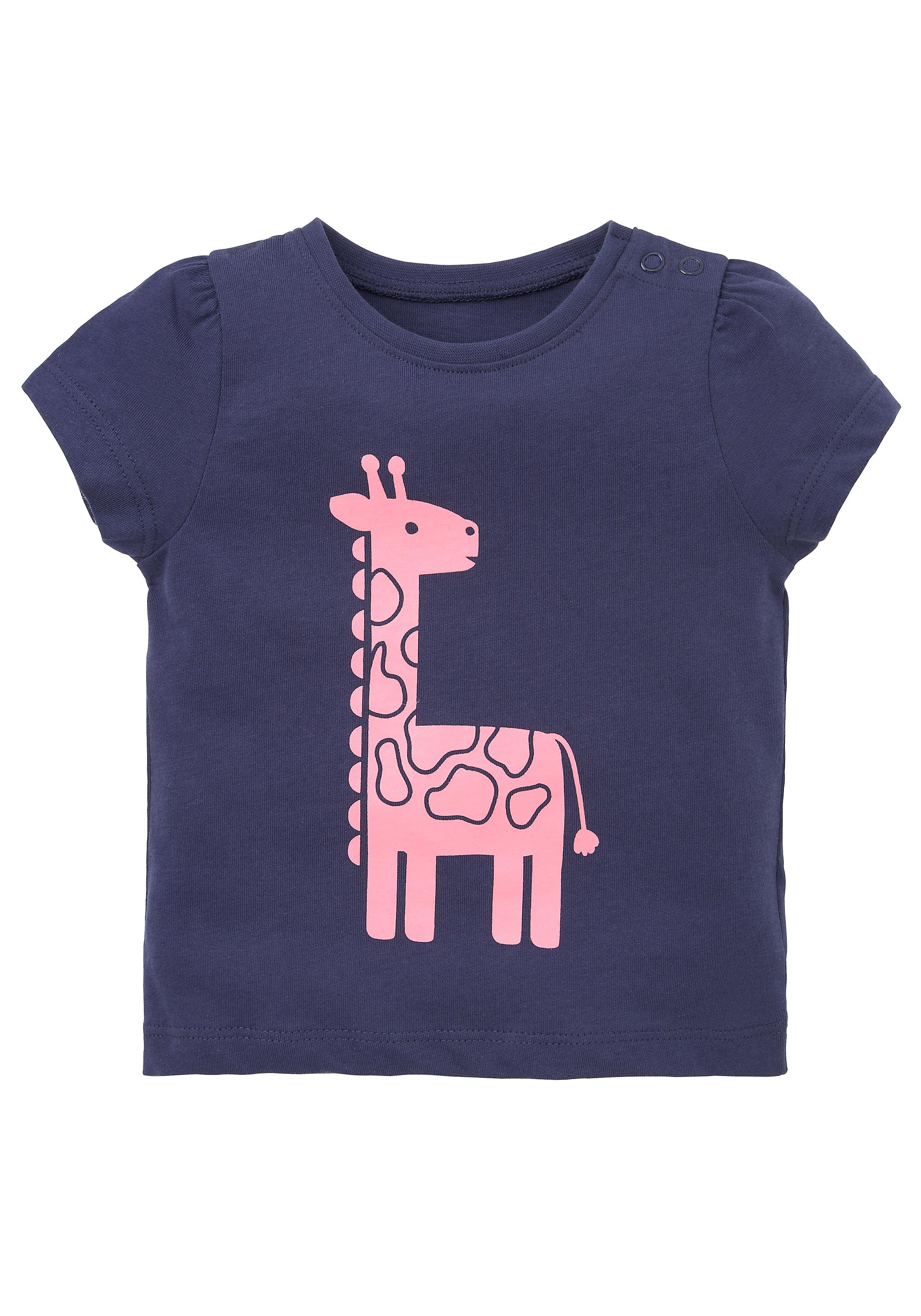 Mothercare   Girls Half Sleeves T-Shirts - Navy