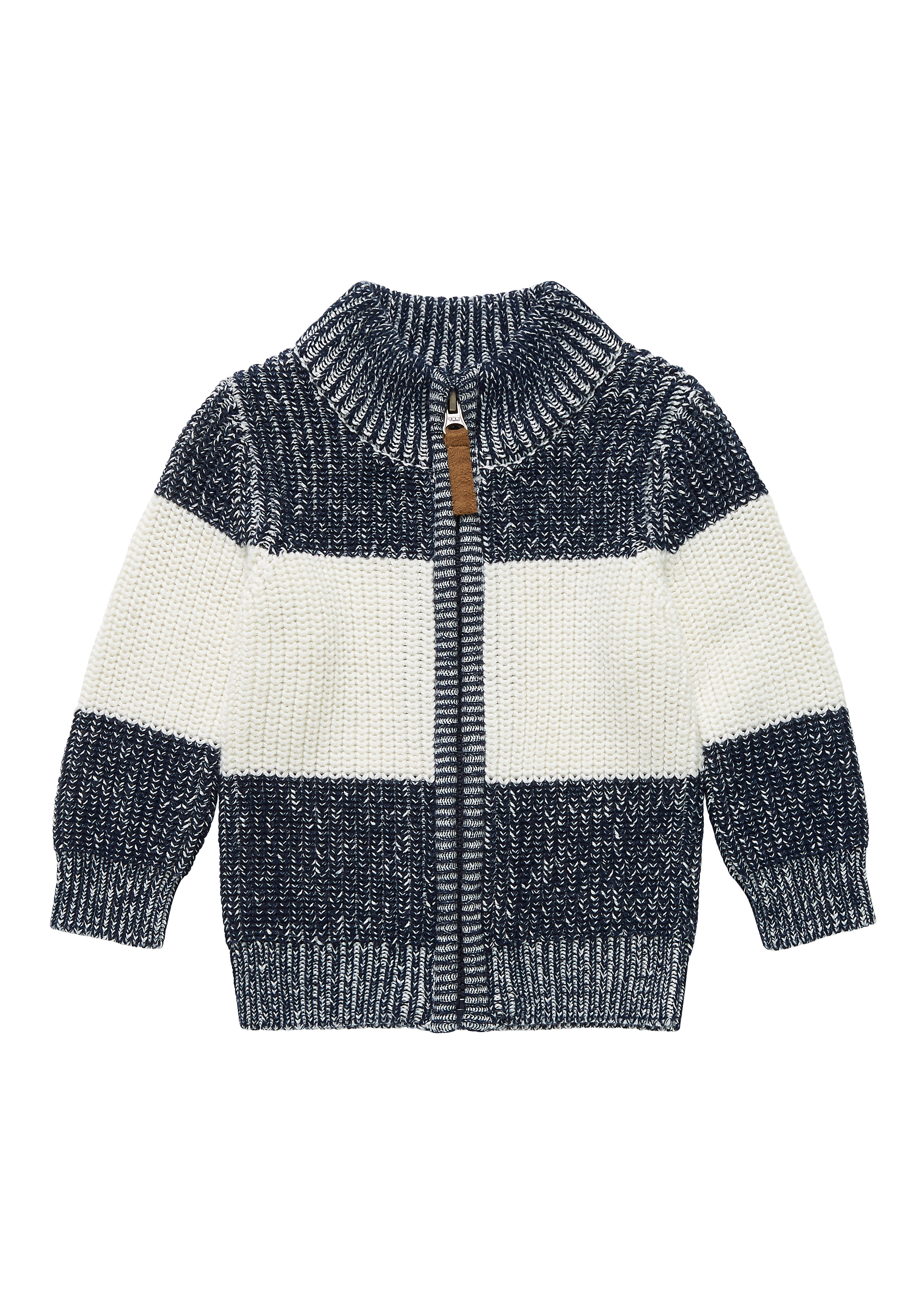 Mothercare   Boys Full Sleeves Cardigan Striped - Multicolor