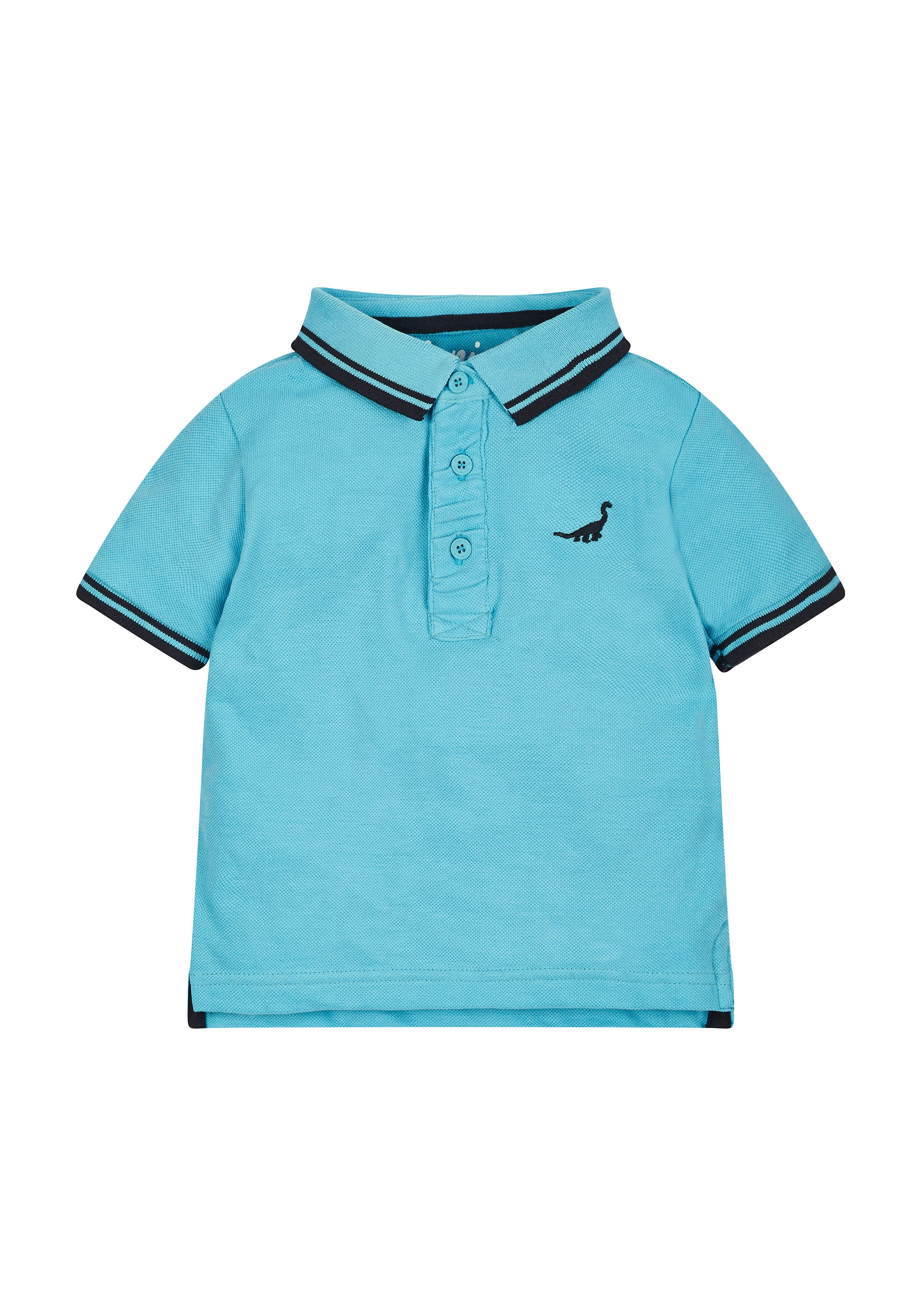 Mothercare | Boys Turquoise Dinosaur Polo Shirt